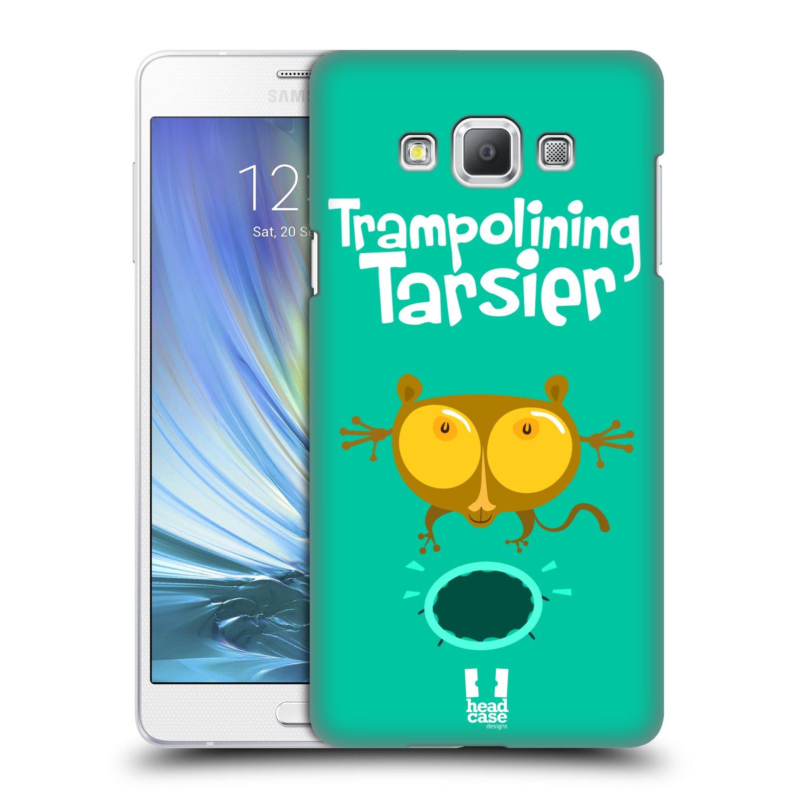 HEAD CASE plastový obal na mobil SAMSUNG GALAXY A7 vzor Zvířátka atleti TARSIER (Nártoun)