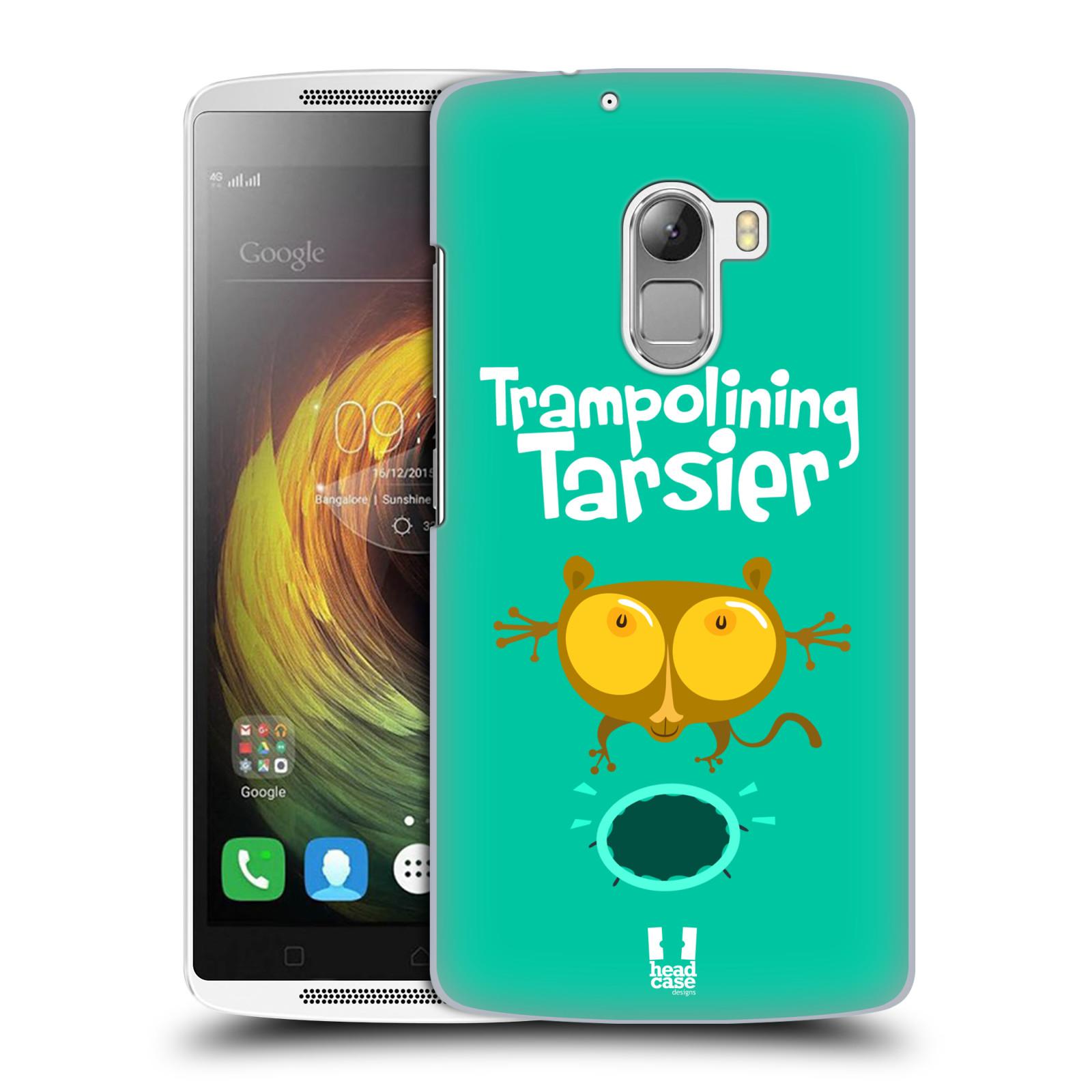 HEAD CASE pevný plastový obal na mobil LENOVO A7010 / A7010 DUAL / K4 Note / Vibe X3 lite vzor Zvířátka atleti TARSIER (Nártoun)