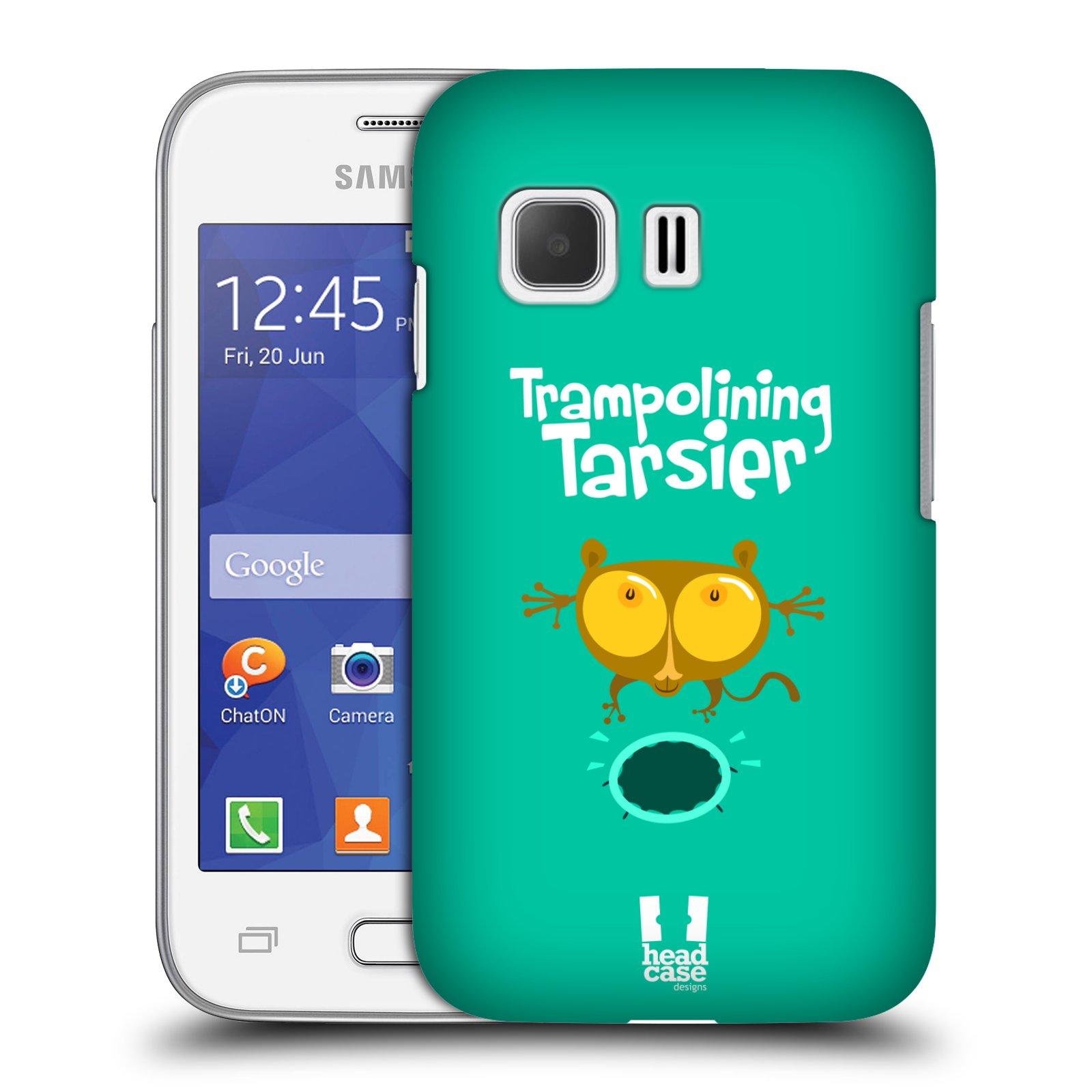 HEAD CASE plastový obal na mobil SAMSUNG Galaxy Young 2 (G130) vzor Zvířátka atleti TARSIER (Nártoun)