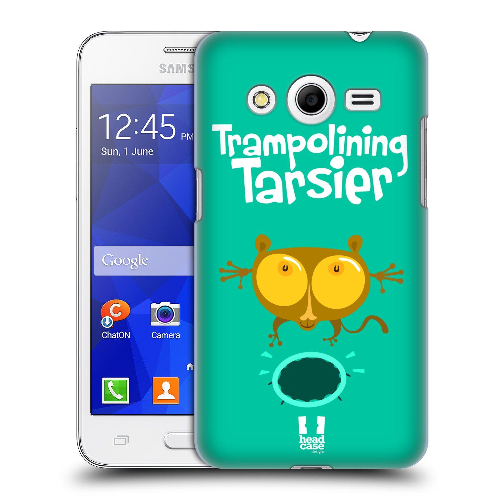 HEAD CASE plastový obal na mobil SAMSUNG GALAXY Core 2 (G355H) vzor Zvířátka atleti TARSIER (Nártoun)