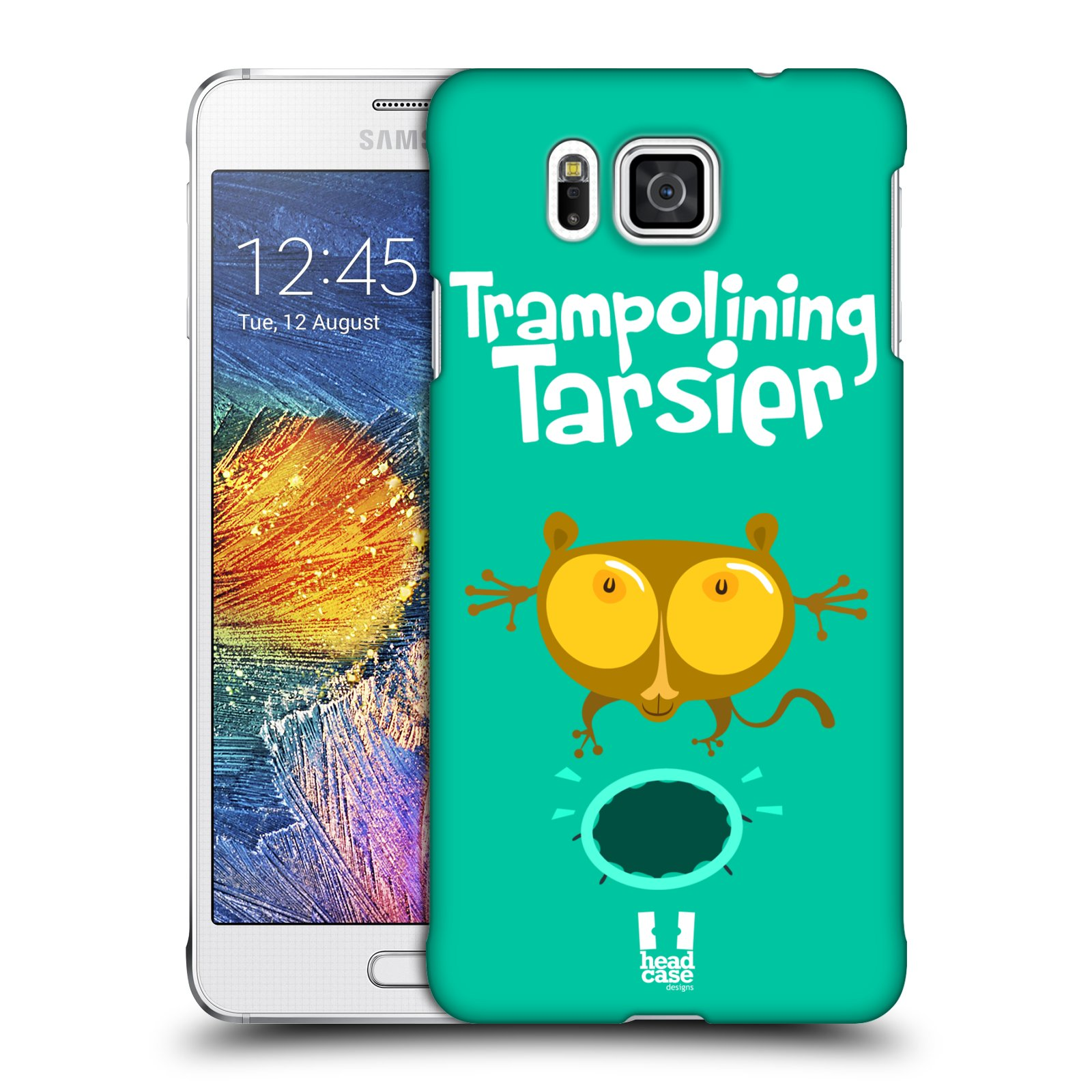 HEAD CASE plastový obal na mobil SAMSUNG Galaxy Alpha (G850) vzor Zvířátka atleti TARSIER (Nártoun)