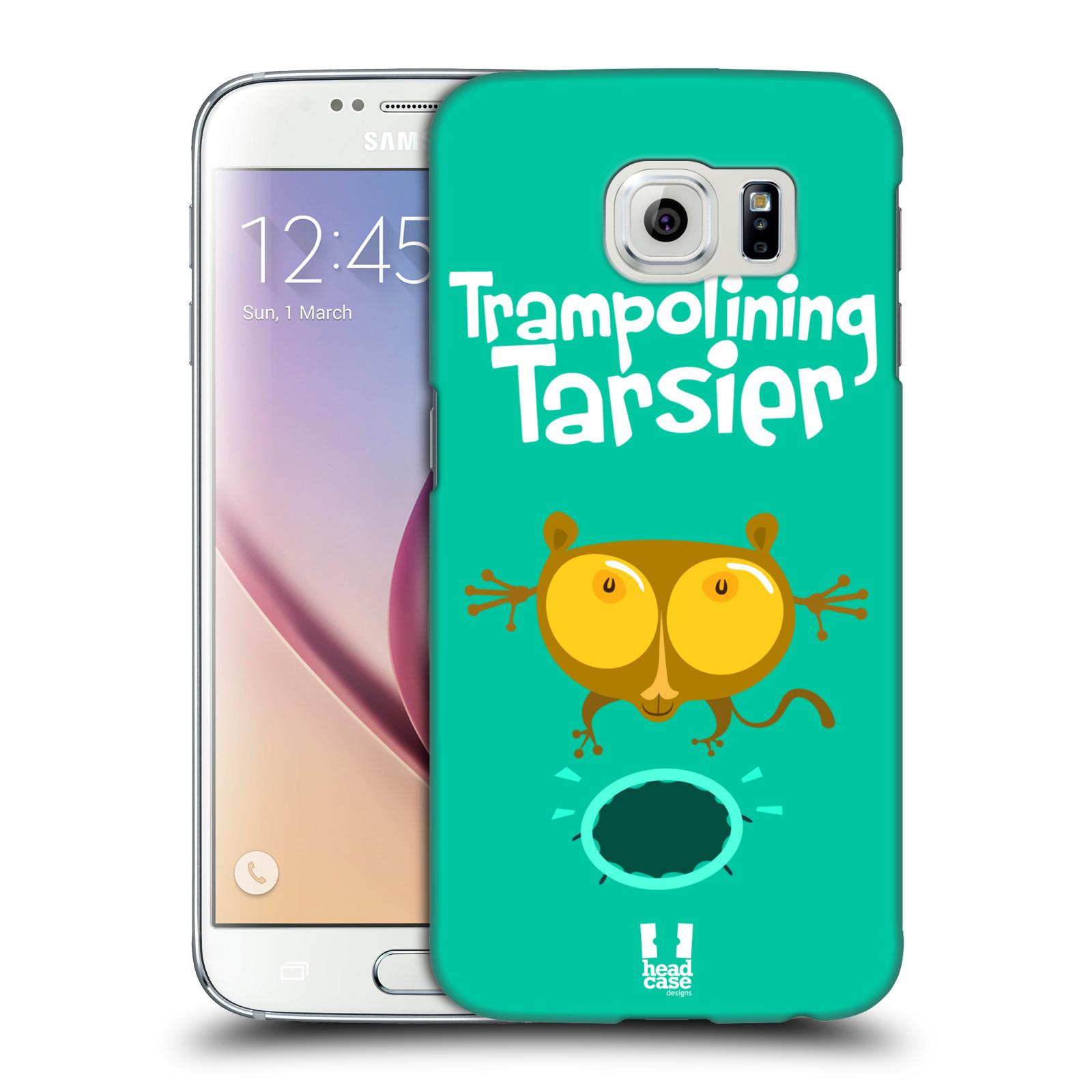 HEAD CASE plastový obal na mobil SAMSUNG Galaxy S6 (G9200, G920F) vzor Zvířátka atleti TARSIER (Nártoun)