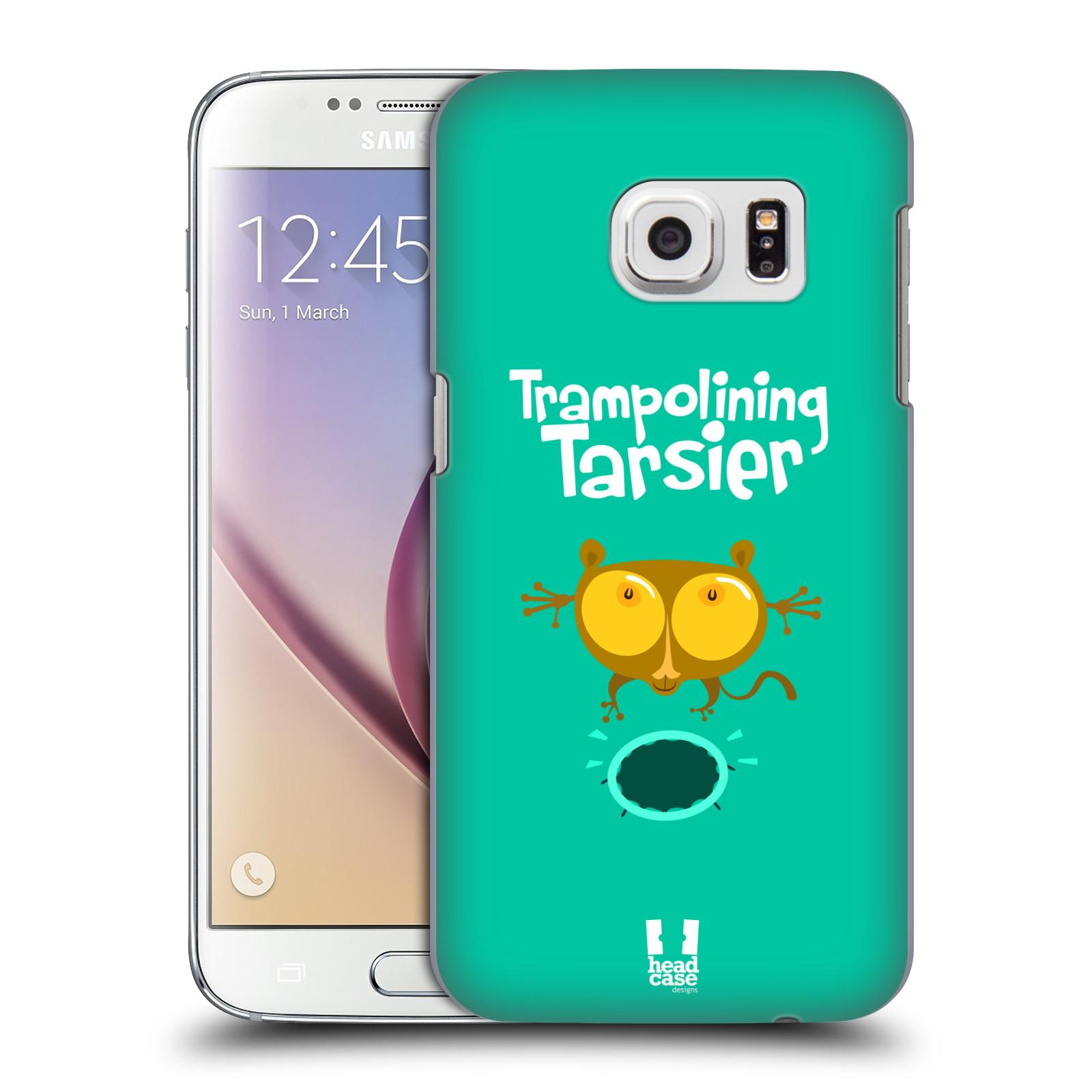 HEAD CASE plastový obal na mobil SAMSUNG GALAXY S7 vzor Zvířátka atleti TARSIER (Nártoun)