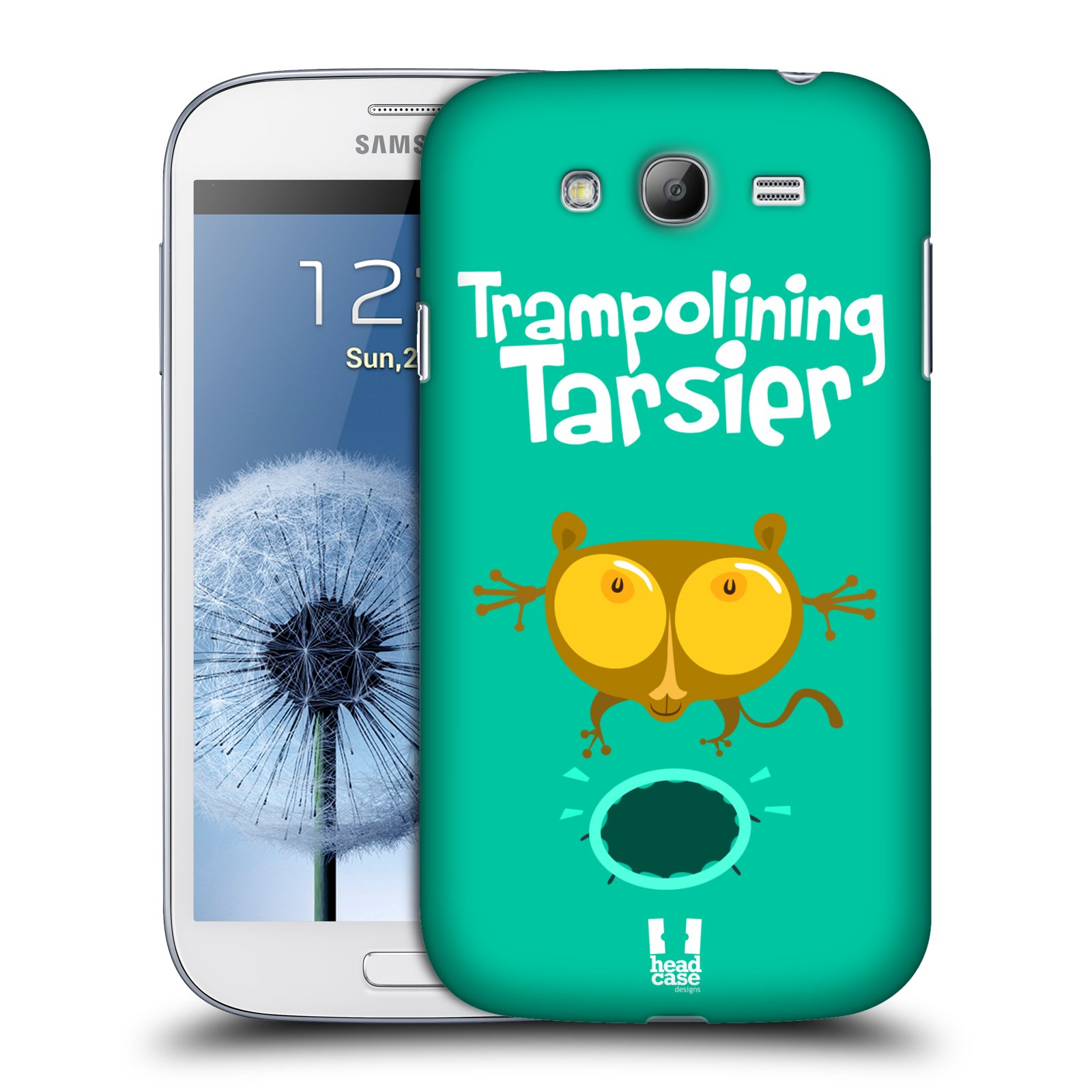 HEAD CASE plastový obal na mobil SAMSUNG GALAXY Grand i9080 vzor Zvířátka atleti TARSIER (Nártoun)