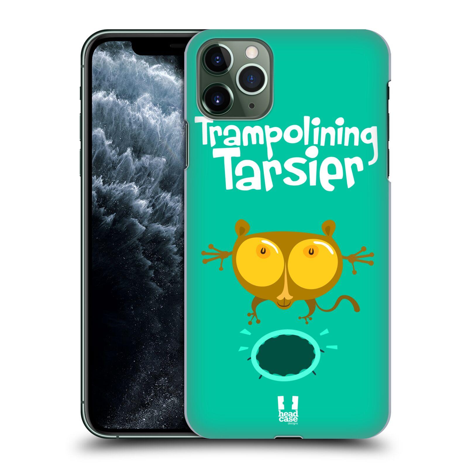 Pouzdro na mobil Apple Iphone 11 PRO MAX - HEAD CASE - vzor Zvířátka atleti TARSIER (Nártoun)