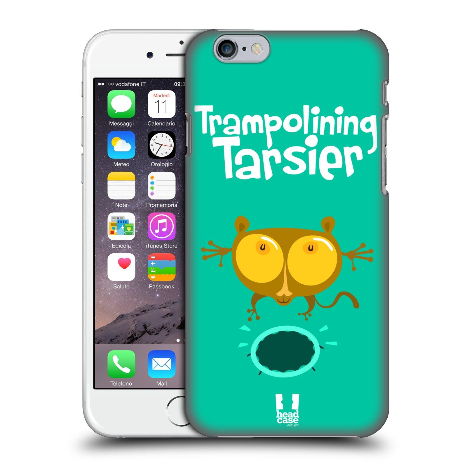 Plastové pouzdro pro mobil Apple Iphone 6/6S vzor Zvířátka atleti TARSIER (Nártoun)