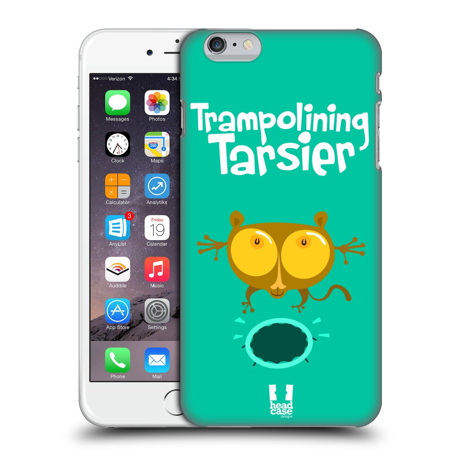 Plastové pouzdro pro mobil Apple Iphone 6 PLUS / 6S PLUS vzor Zvířátka atleti TARSIER (Nártoun)