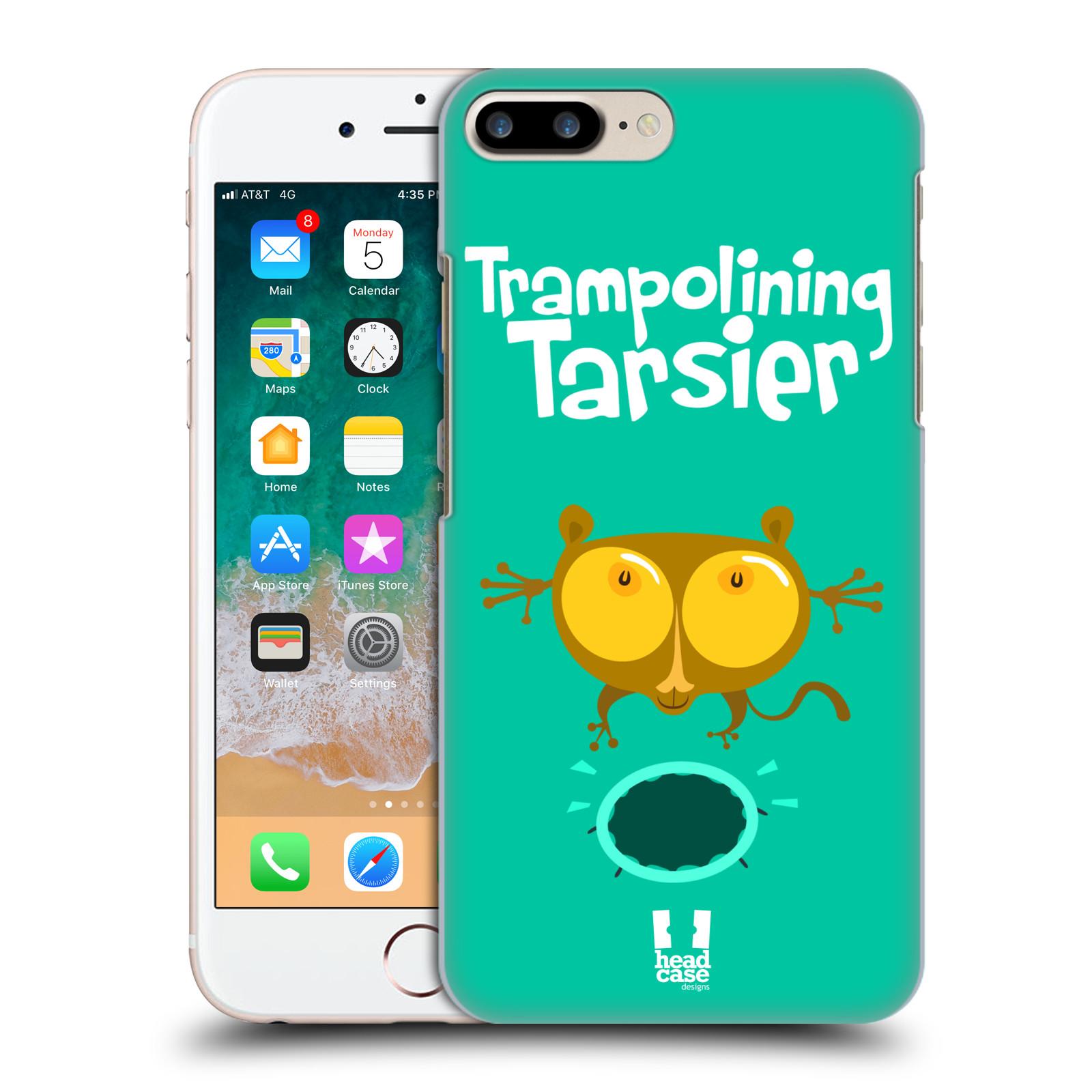 HEAD CASE plastový obal na mobil Apple Iphone 7 PLUS vzor Zvířátka atleti TARSIER (Nártoun)