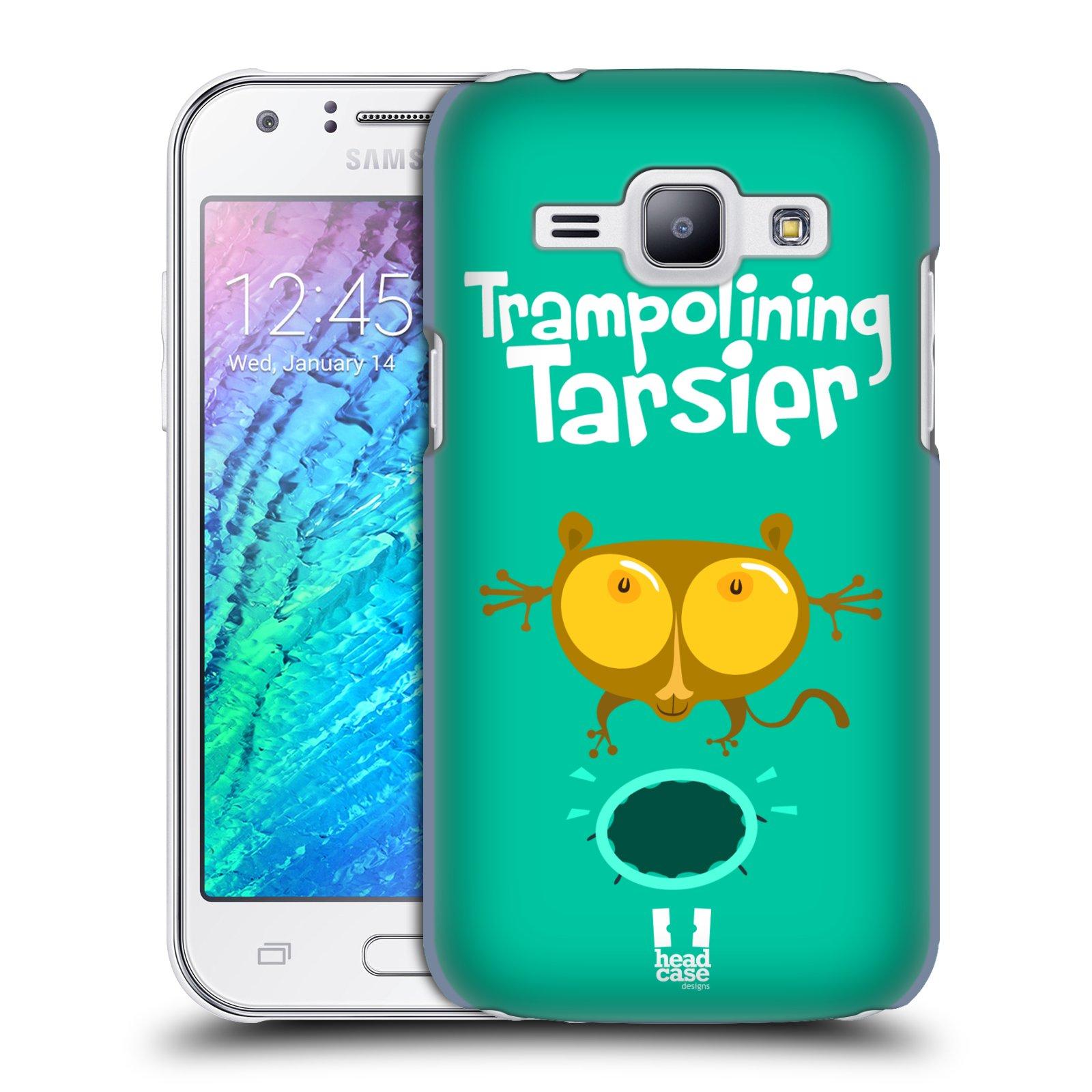 HEAD CASE plastový obal na mobil SAMSUNG Galaxy J1, J100 vzor Zvířátka atleti TARSIER (Nártoun)