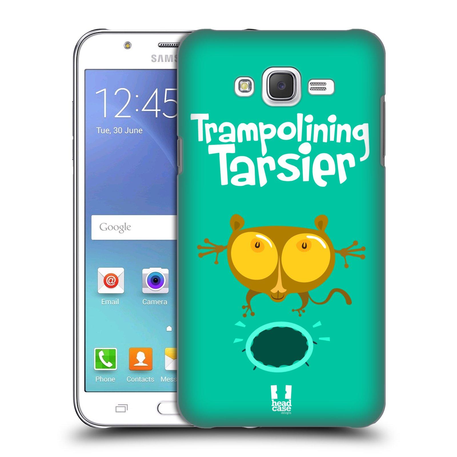 HEAD CASE plastový obal na mobil SAMSUNG Galaxy J7, J700 vzor Zvířátka atleti TARSIER (Nártoun)