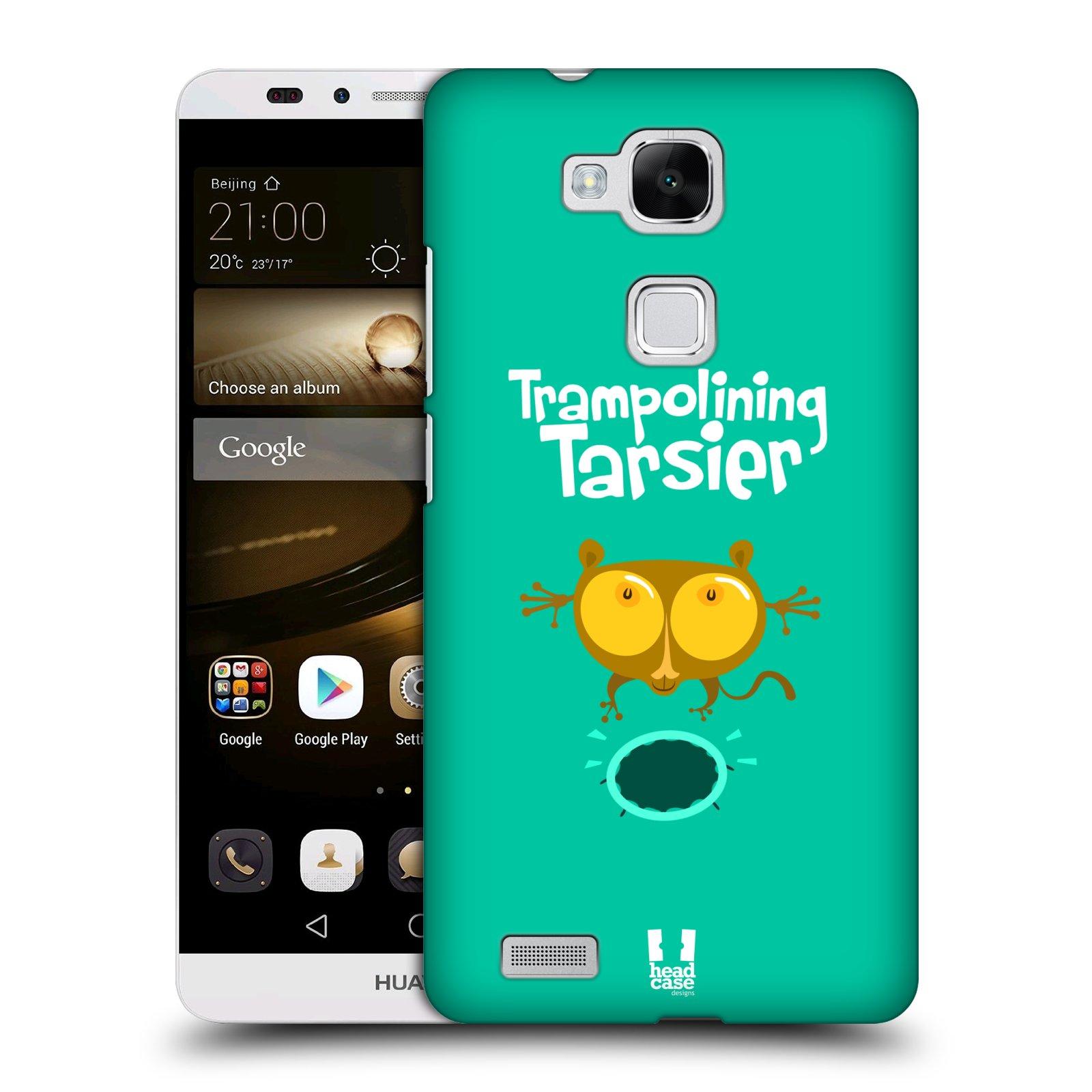 HEAD CASE plastový obal na mobil Huawei Mate 7 vzor Zvířátka atleti TARSIER (Nártoun)