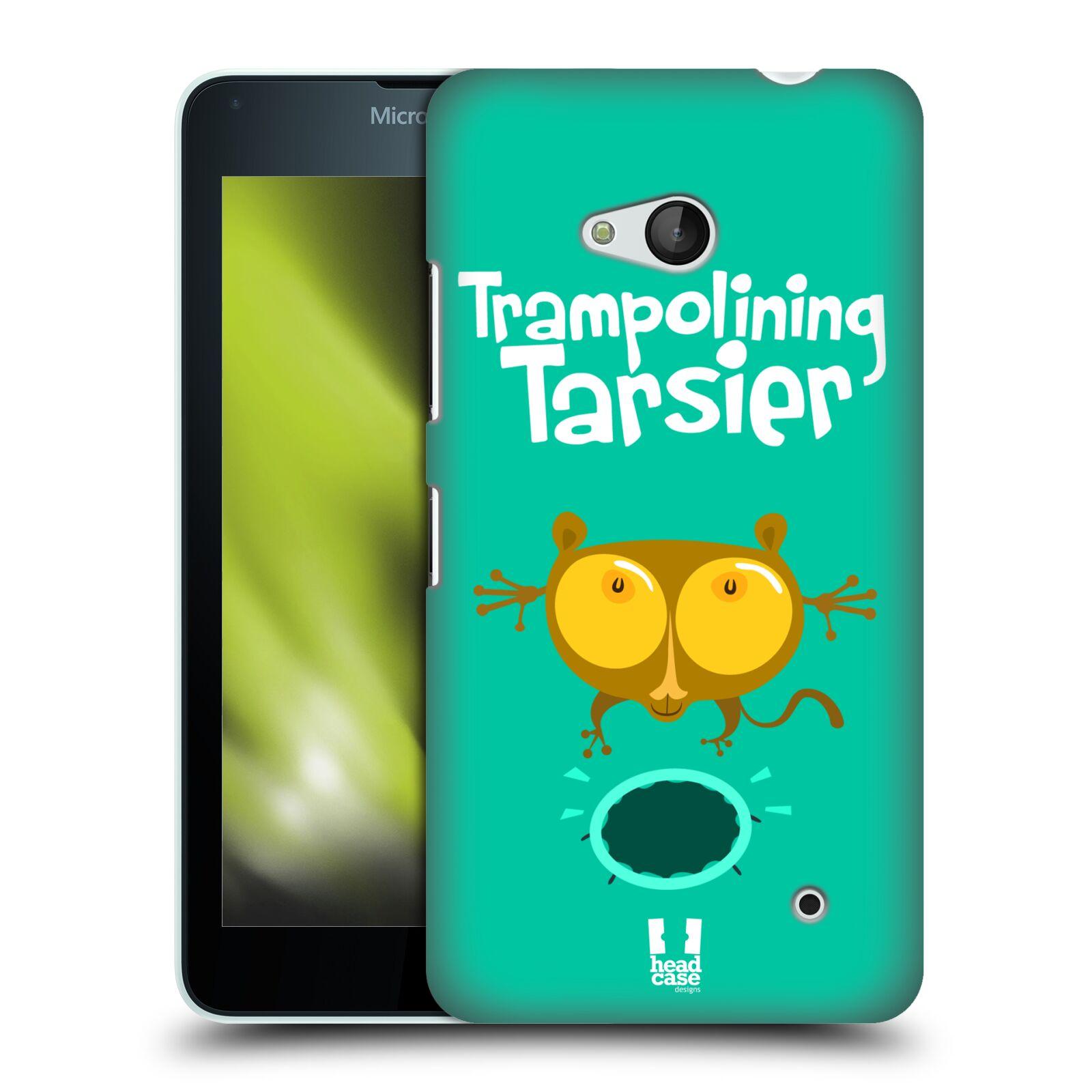 HEAD CASE plastový obal na mobil Nokia Lumia 640 vzor Zvířátka atleti TARSIER (Nártoun)
