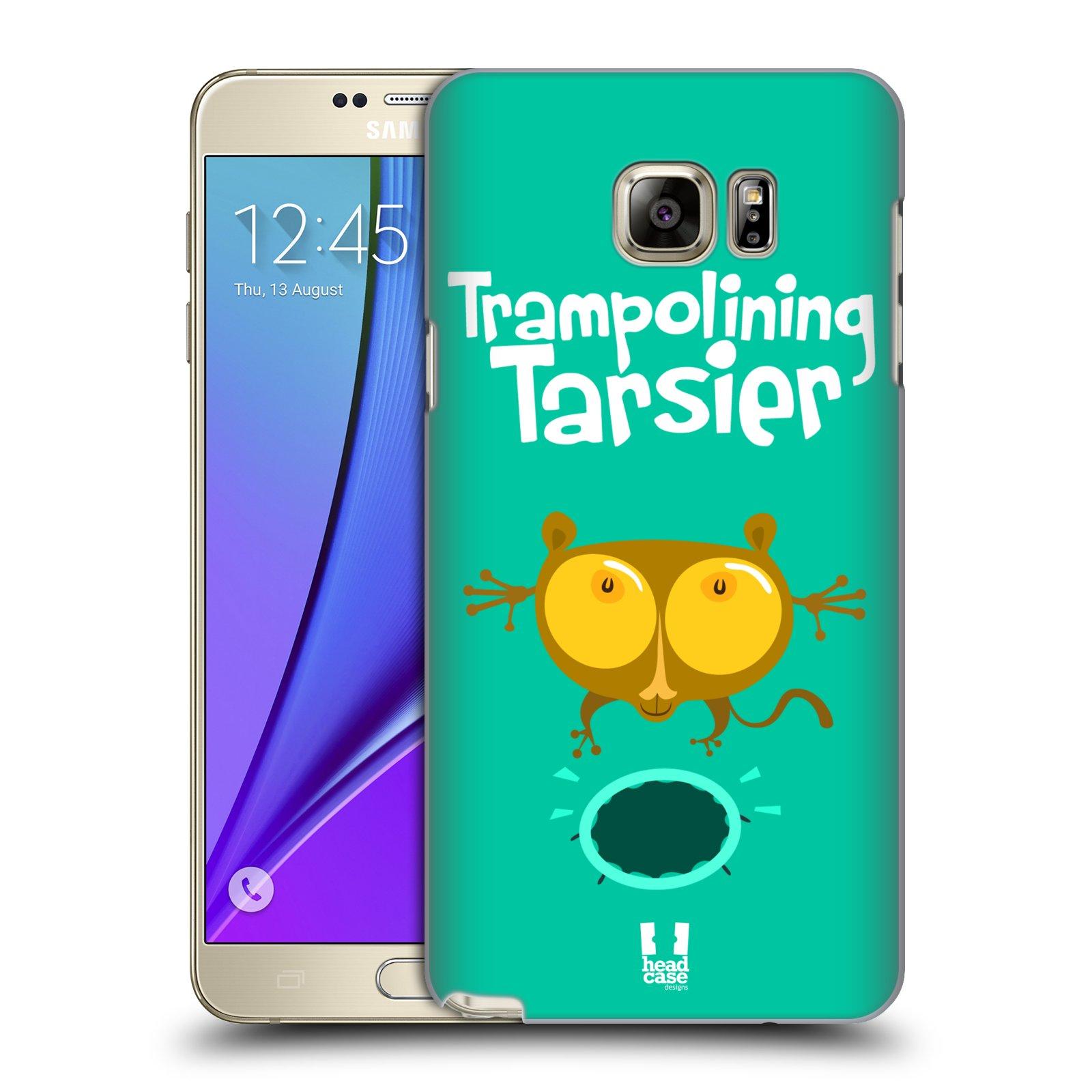 HEAD CASE plastový obal na mobil SAMSUNG Galaxy Note 5 (N920) vzor Zvířátka atleti TARSIER (Nártoun)