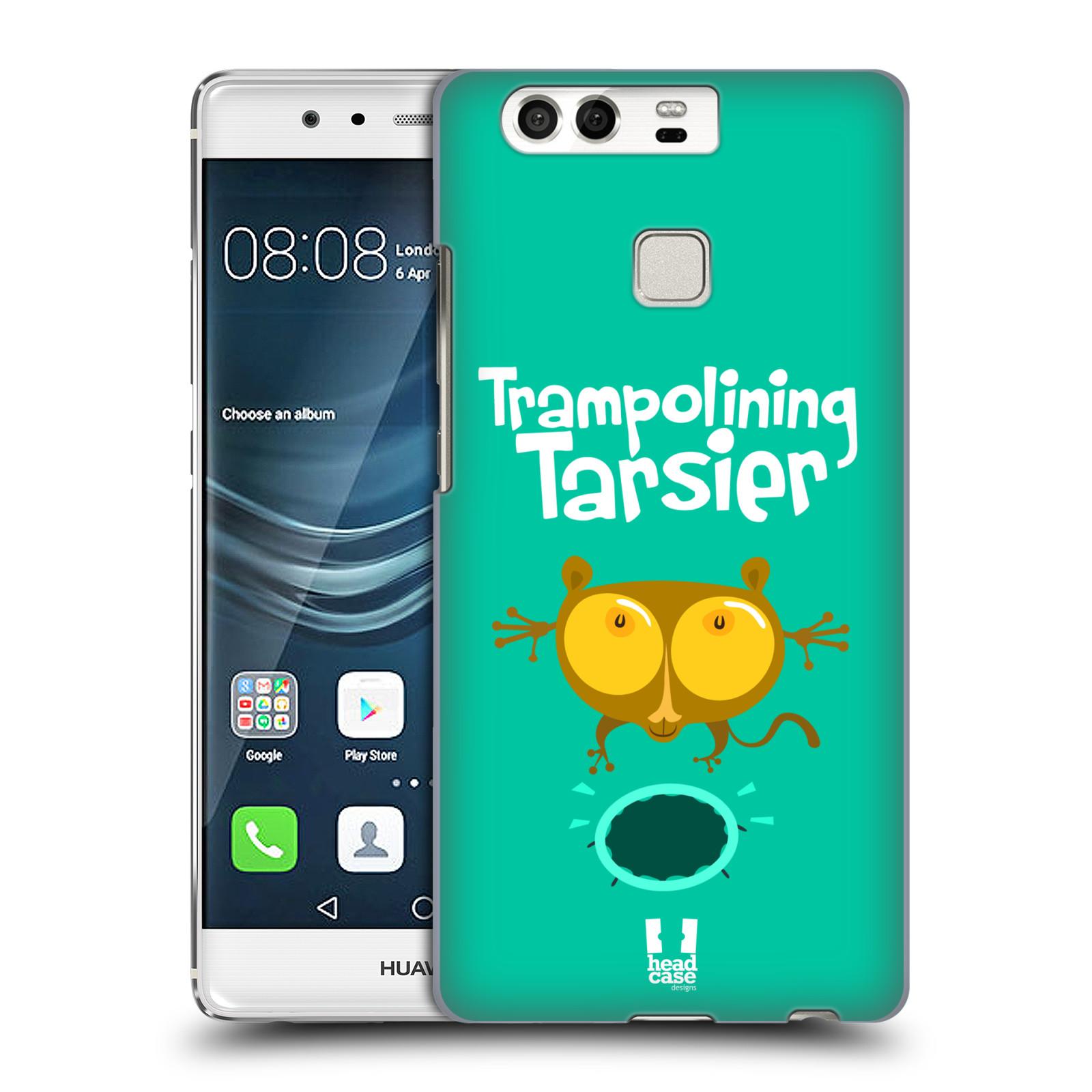 HEAD CASE plastový obal na mobil Huawei P9 / P9 DUAL SIM vzor Zvířátka atleti TARSIER (Nártoun)