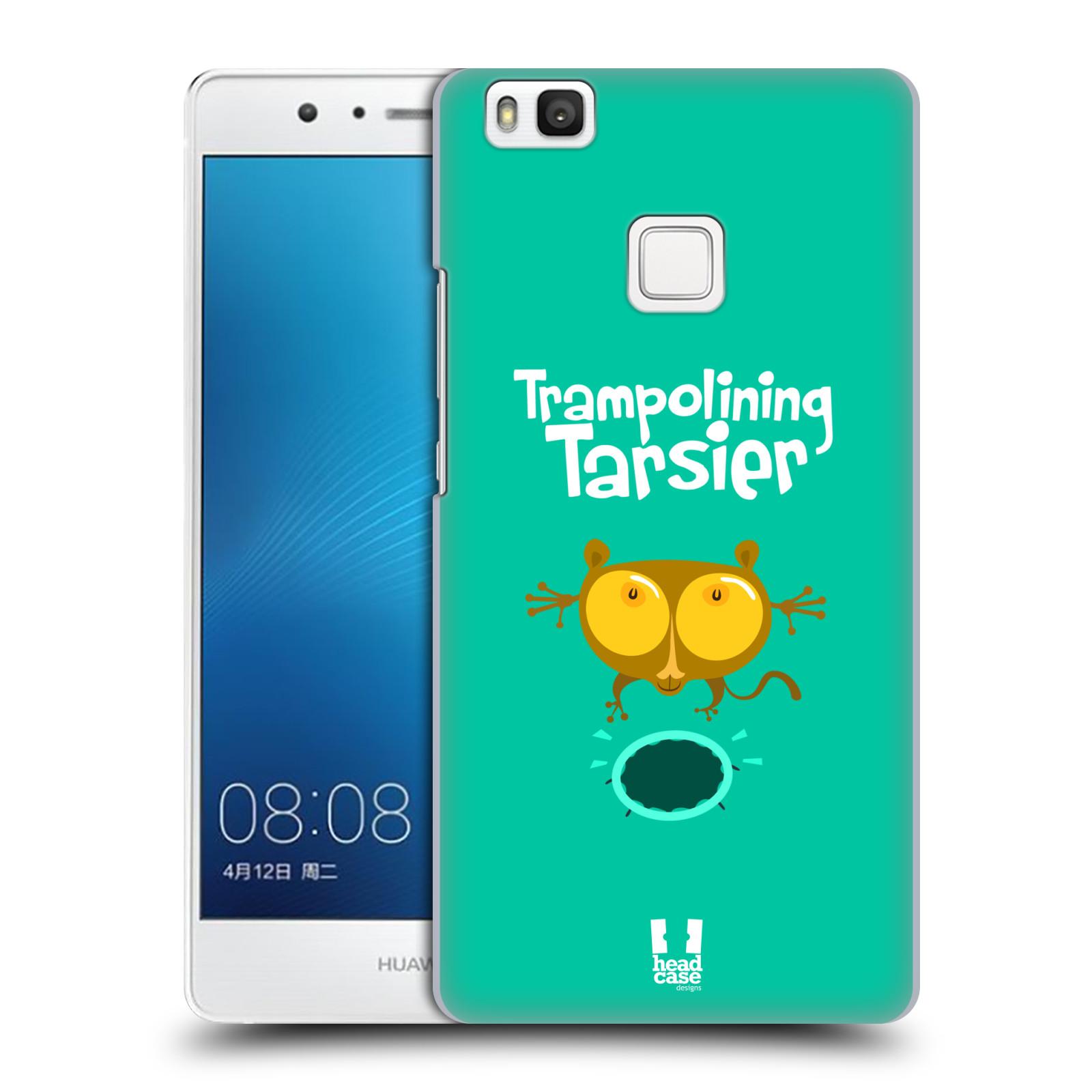 HEAD CASE plastový obal na mobil Huawei P9 LITE / P9 LITE DUAL SIM vzor Zvířátka atleti TARSIER (Nártoun)
