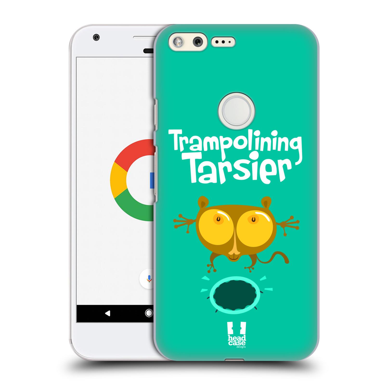 HEAD CASE plastový obal na mobil GOOGLE Pixel vzor Zvířátka atleti TARSIER (Nártoun)