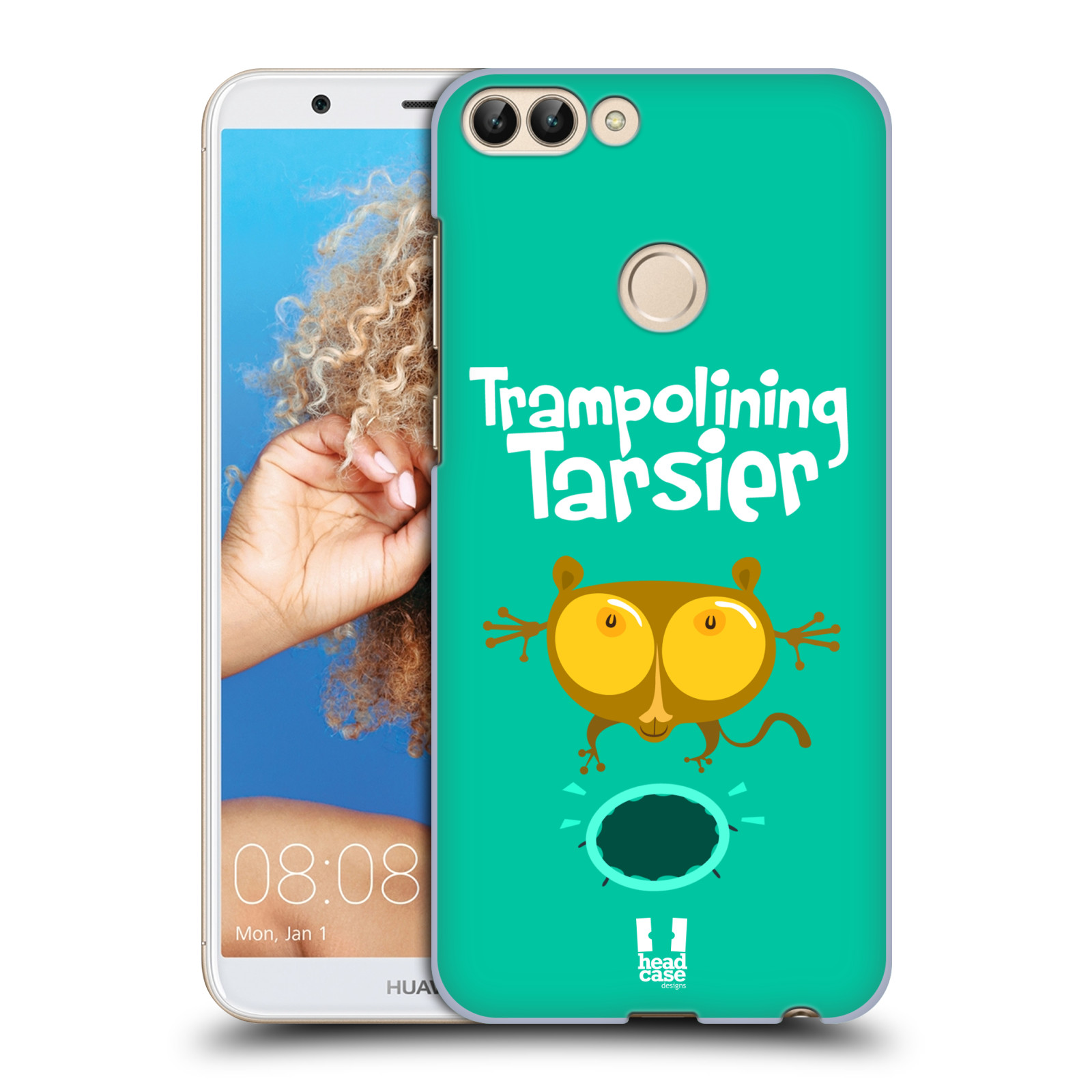 HEAD CASE plastový obal na mobil Huawei P Smart vzor Zvířátka atleti TARSIER (Nártoun)