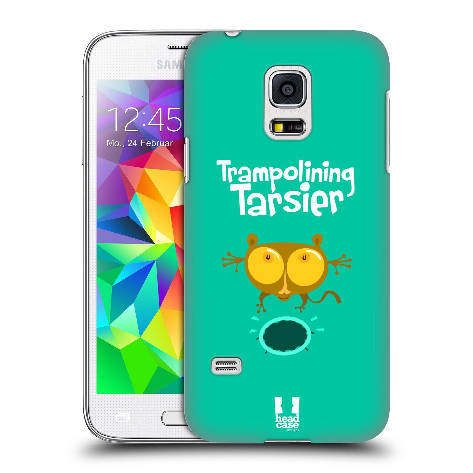 HEAD CASE plastový obal na mobil SAMSUNG Galaxy S5 MINI / S5 MINI DUOS vzor Zvířátka atleti TARSIER (Nártoun)