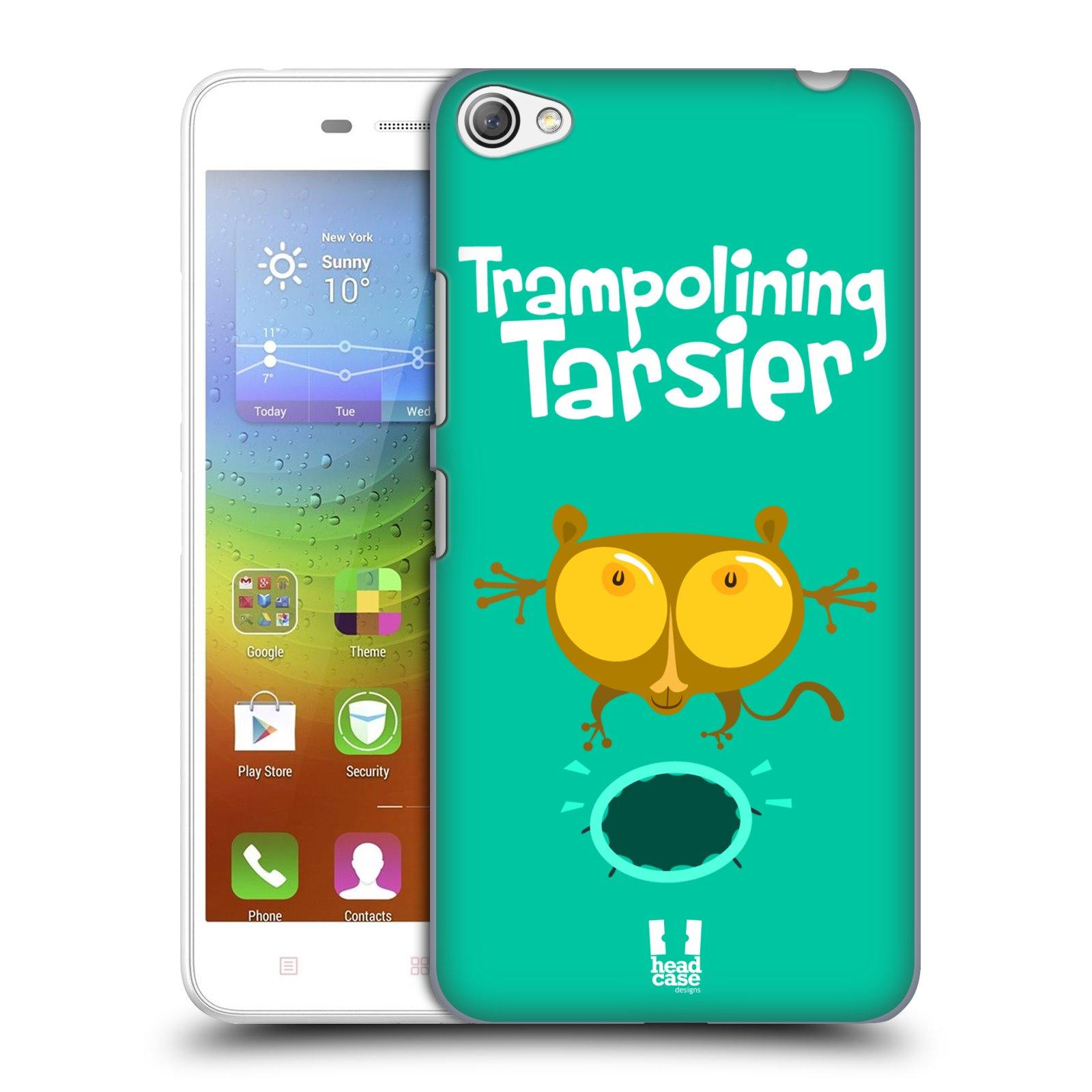 HEAD CASE pevný plastový obal na mobil LENOVO S60 / LENOVO S60 DUAL SIM vzor Zvířátka atleti TARSIER (Nártoun)