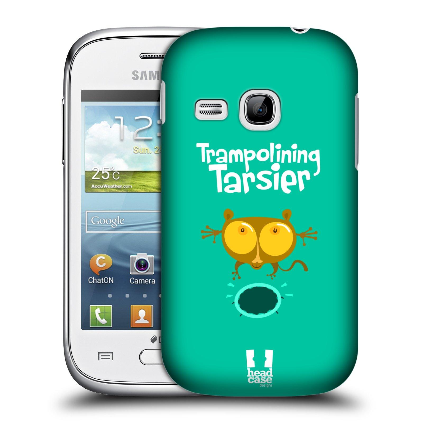 HEAD CASE plastový obal na mobil SAMSUNG Galaxy Young S6310 vzor Zvířátka atleti TARSIER (Nártoun)