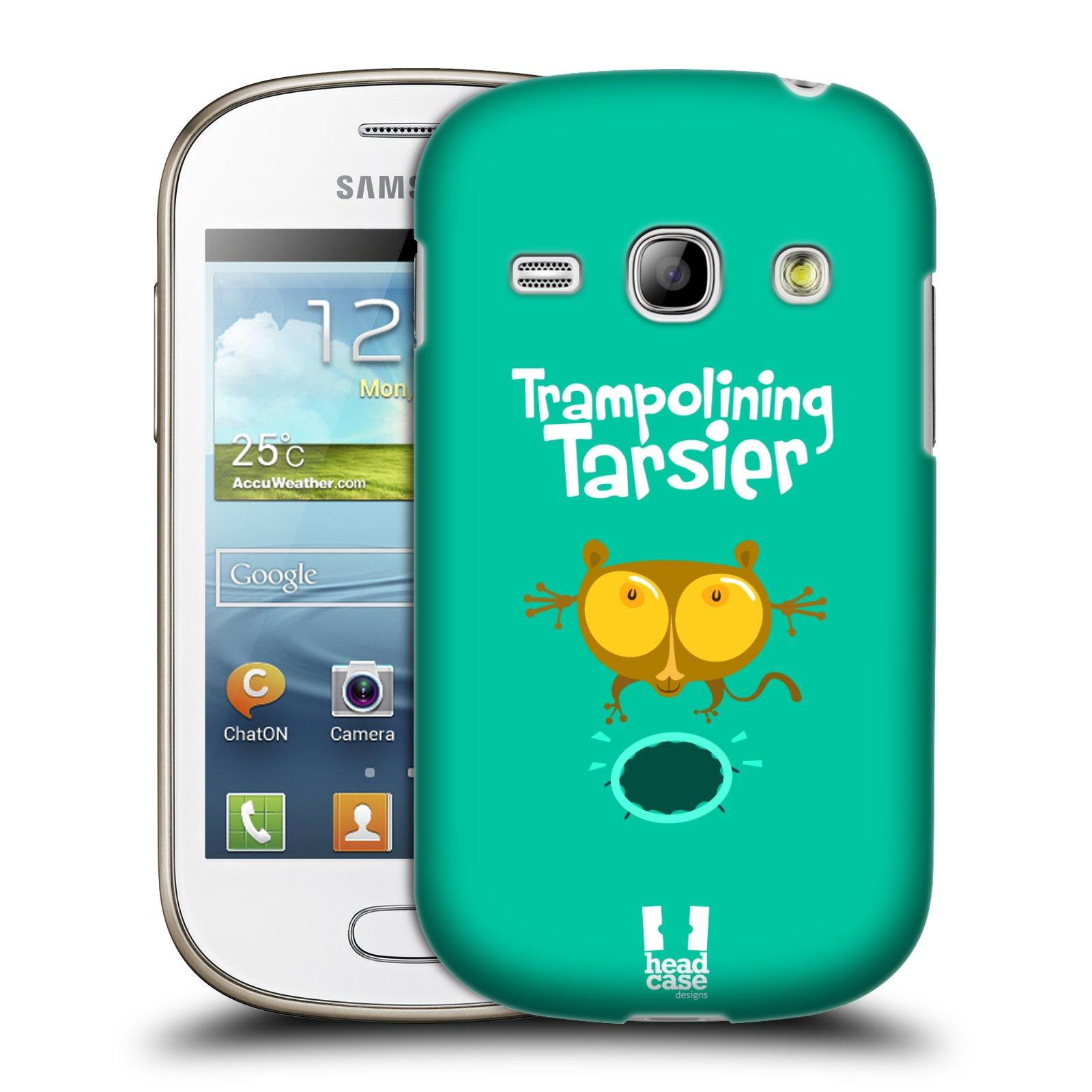 HEAD CASE plastový obal na mobil SAMSUNG GALAXY FAME (S6810) vzor Zvířátka atleti TARSIER (Nártoun)