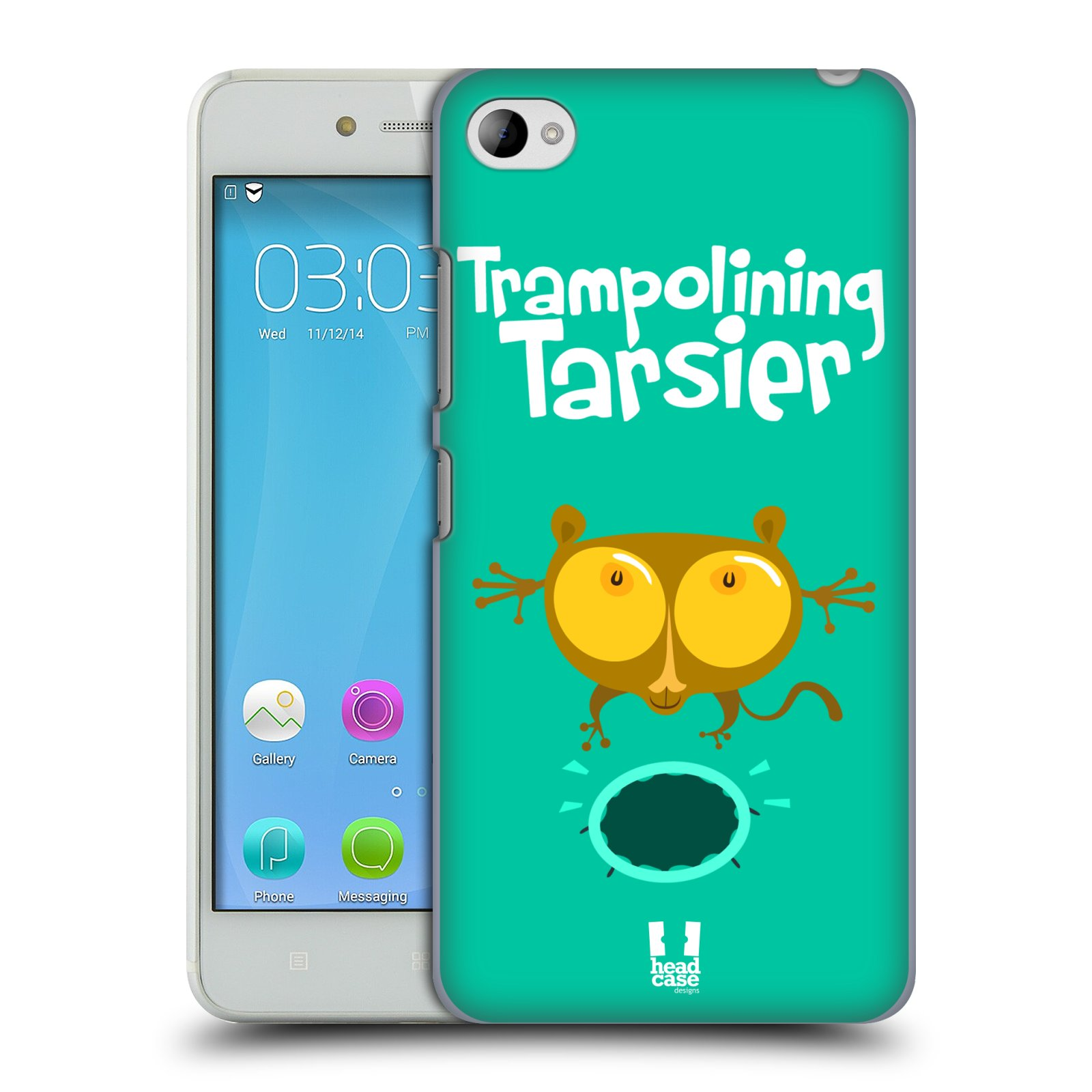 HEAD CASE pevný plastový obal na mobil LENOVO S90 vzor Zvířátka atleti TARSIER (Nártoun)
