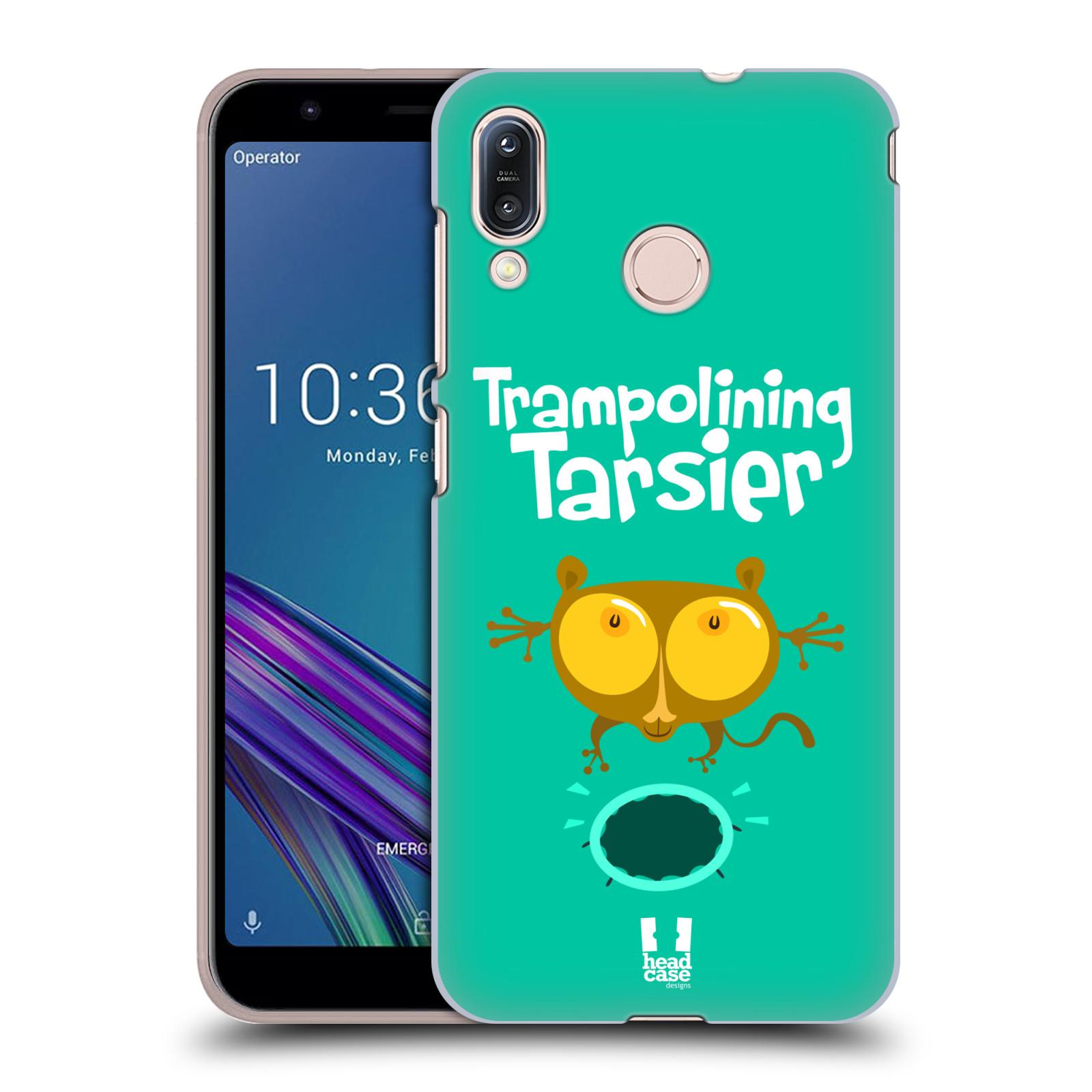 Pouzdro na mobil Asus Zenfone Max M1 (ZB555KL) - HEAD CASE - vzor Zvířátka atleti TARSIER (Nártoun)