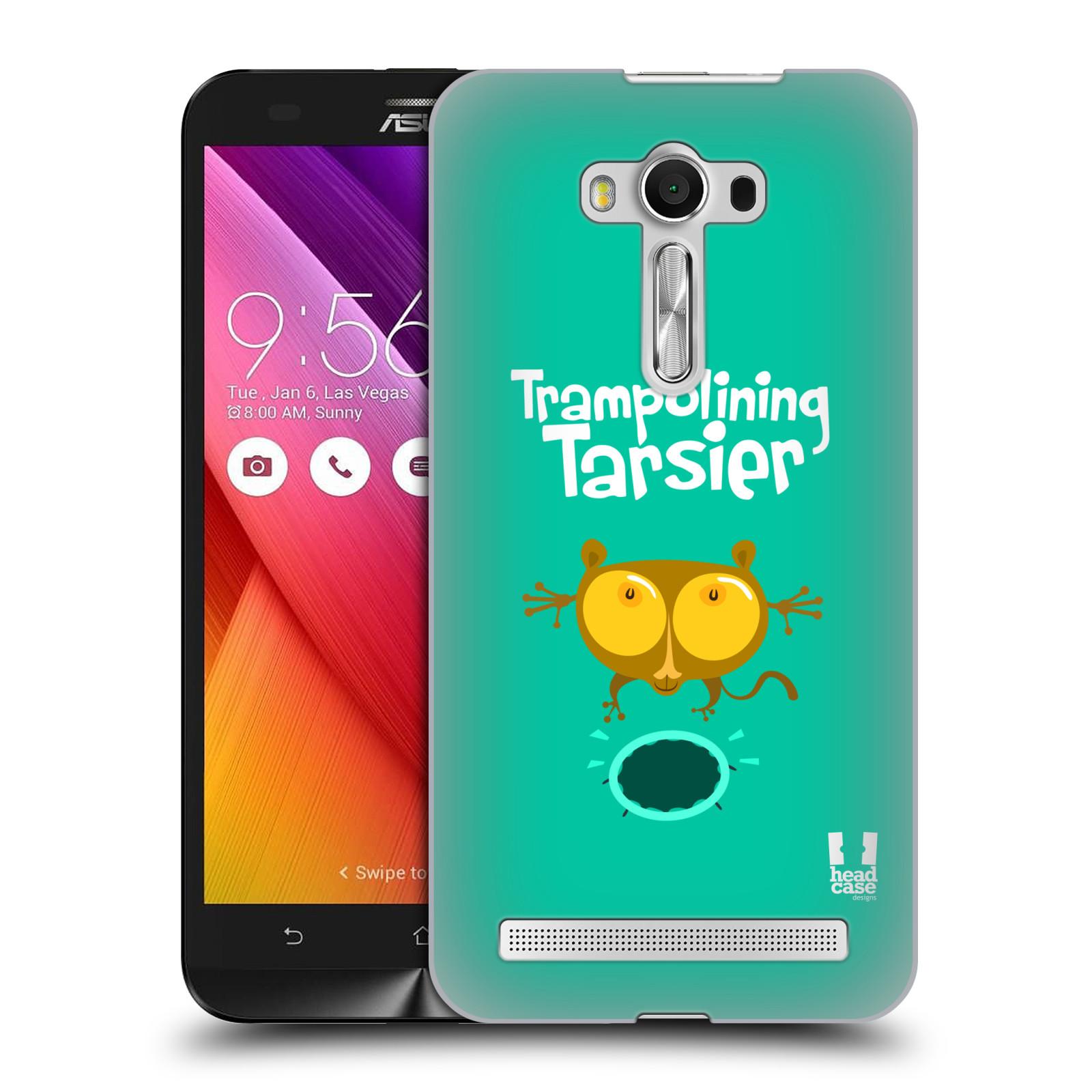 HEAD CASE plastový obal na mobil Asus Zenfone 2 LASER (5,5 displej ZE550KL) vzor Zvířátka atleti TARSIER (Nártoun)