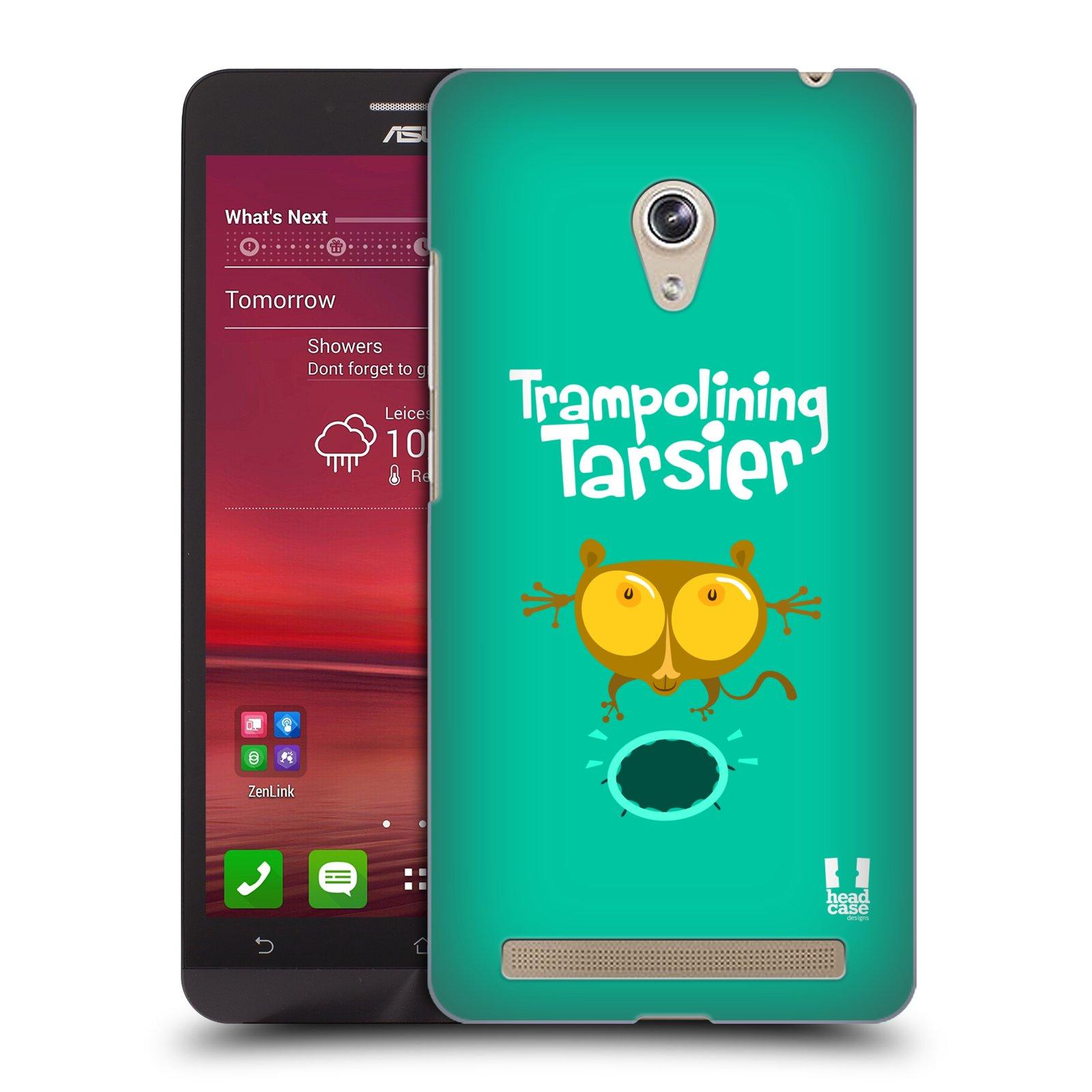 HEAD CASE plastový obal na mobil Asus Zenfone 6 vzor Zvířátka atleti TARSIER (Nártoun)