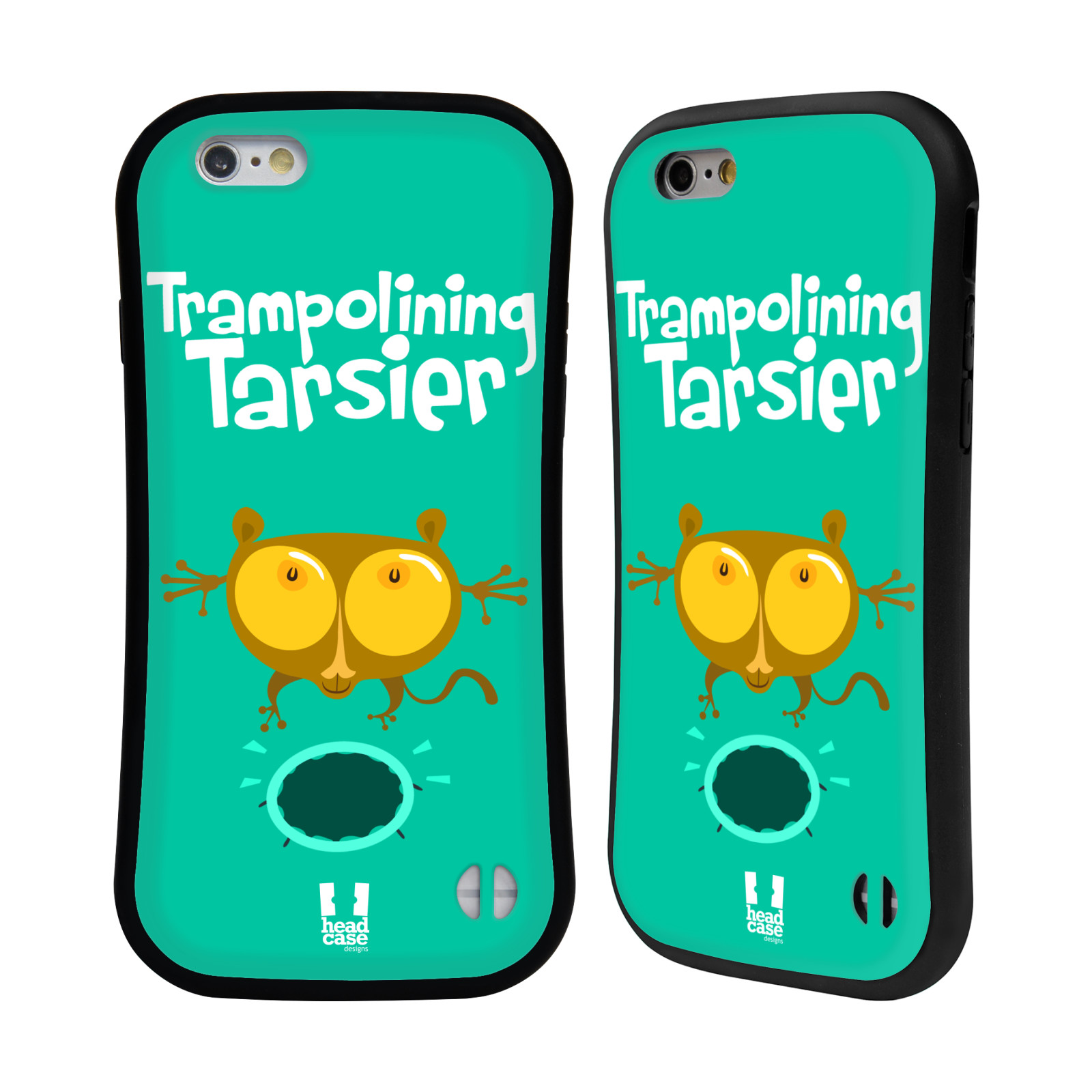 HEAD CASE silikon/plast odolný obal na mobil Apple Iphone 6/6S vzor Zvířátka atleti TARSIER (Nártoun)