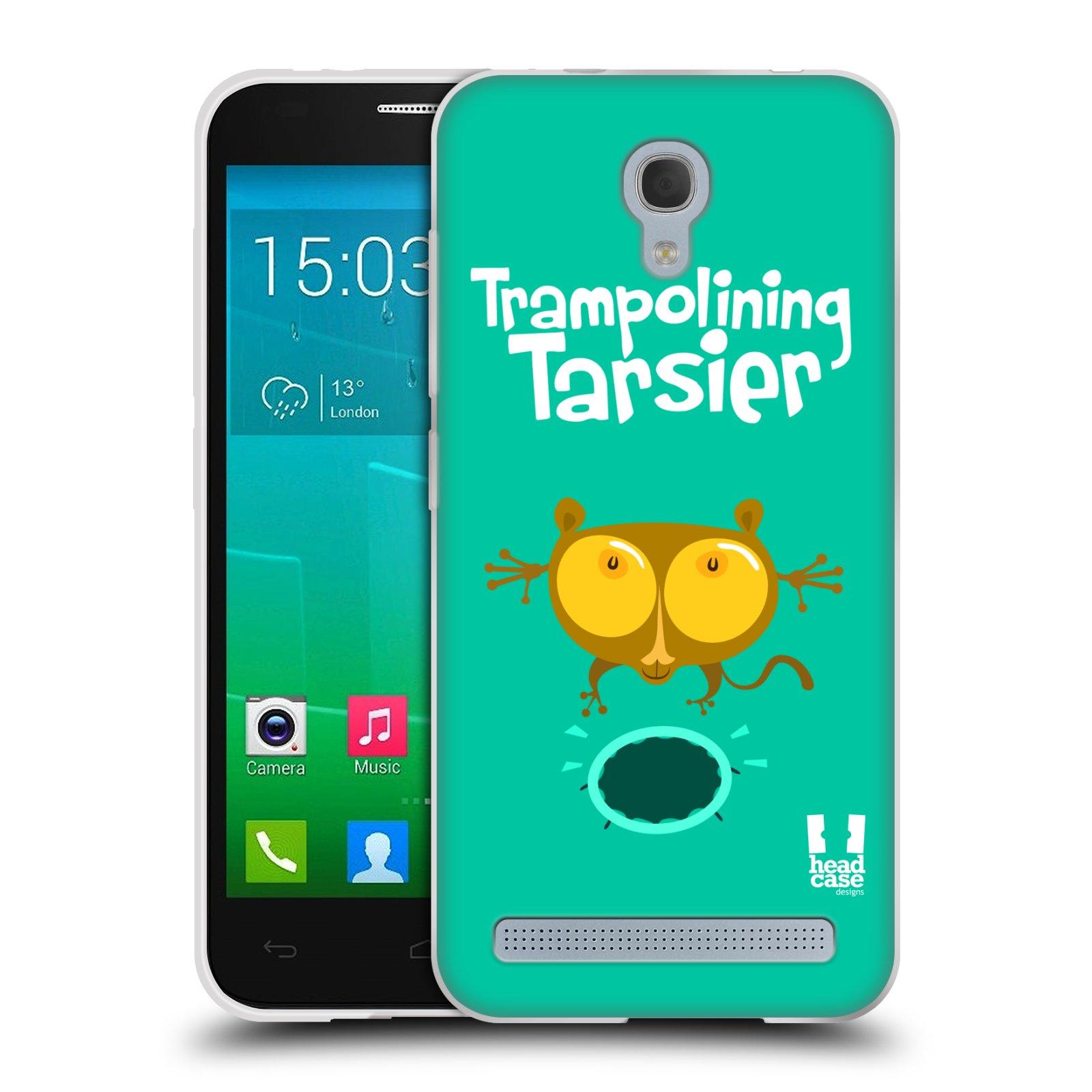 HEAD CASE silikonový obal na mobil Alcatel Idol 2 MINI S 6036Y vzor Zvířátka atleti TARSIER (Nártoun)