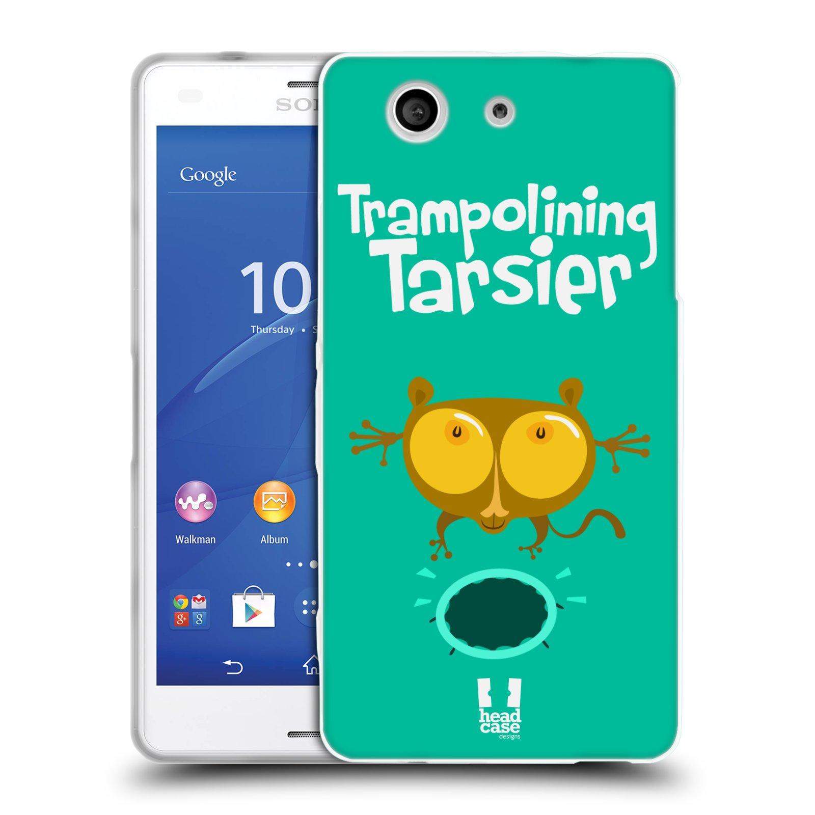 HEAD CASE silikonový obal na mobil Sony Xperia Z3 COMPACT (D5803) vzor Zvířátka atleti TARSIER (Nártoun)