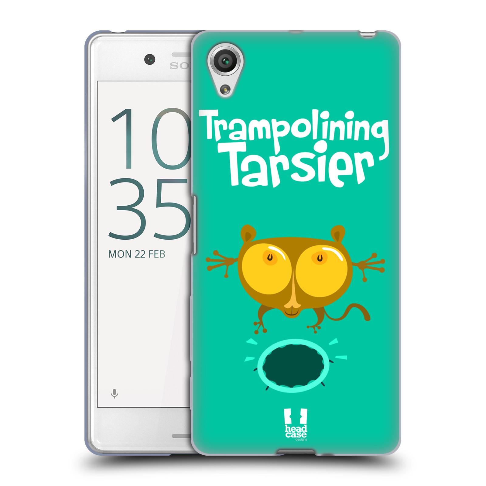 HEAD CASE silikonový obal na mobil Sony Xperia X PERFORMANCE (F8131, F8132) vzor Zvířátka atleti TARSIER (Nártoun)