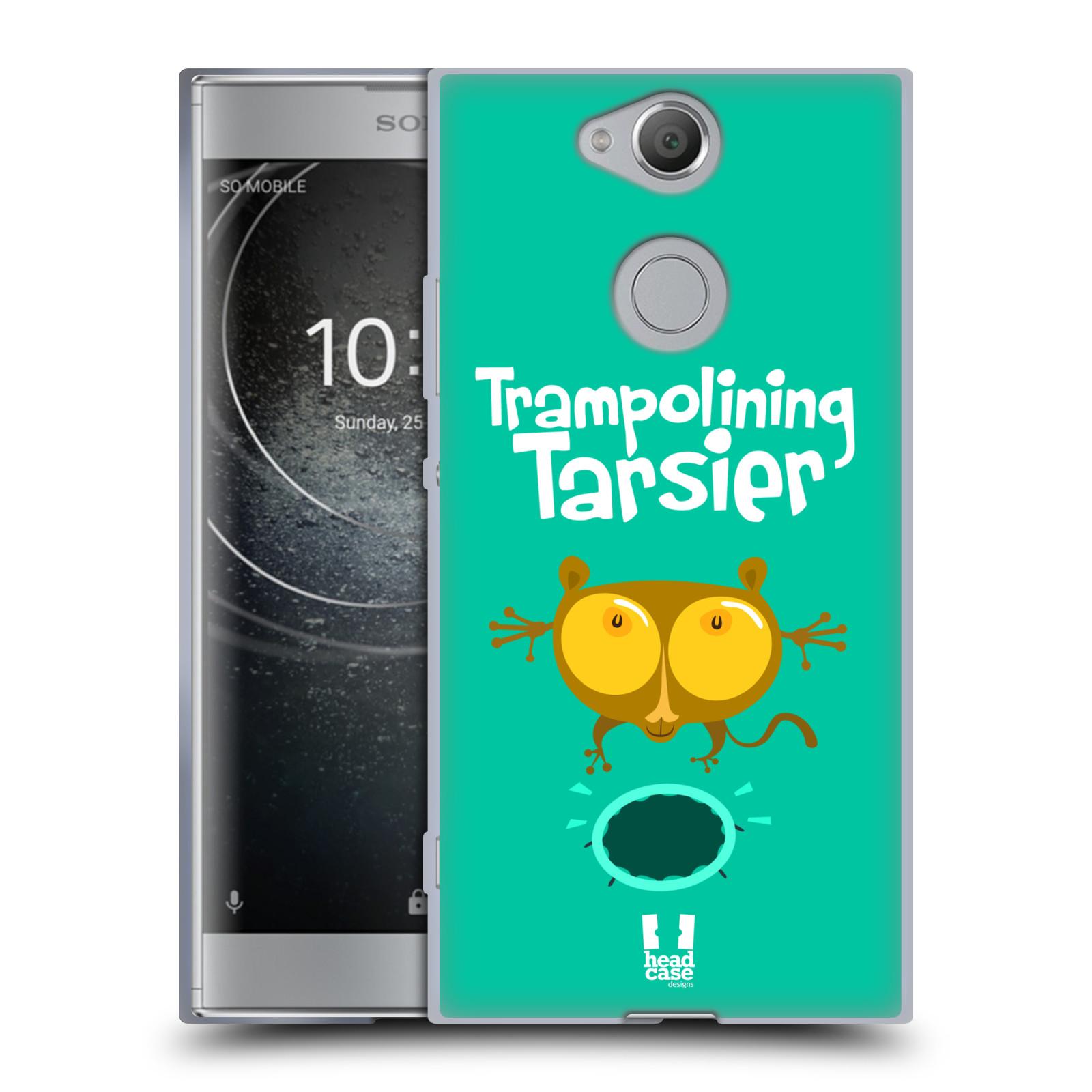 Pouzdro na mobil Sony Xperia XA2 (DUAL SIM, SINGLE SIM) vzor Zvířátka atleti TARSIER (Nártoun)