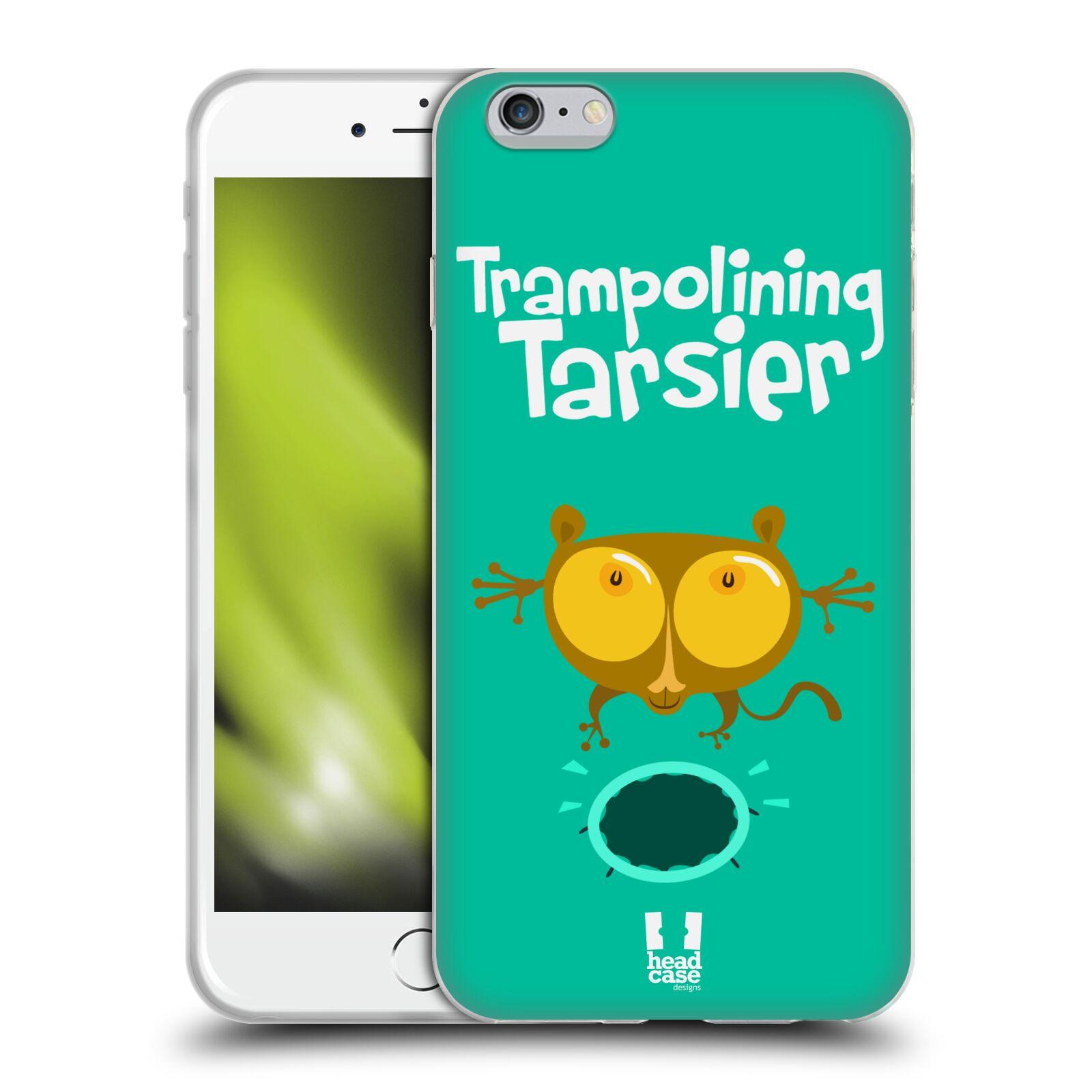 HEAD CASE silikonový obal na mobil Apple Iphone 6 PLUS/ 6S PLUS vzor Zvířátka atleti TARSIER (Nártoun)