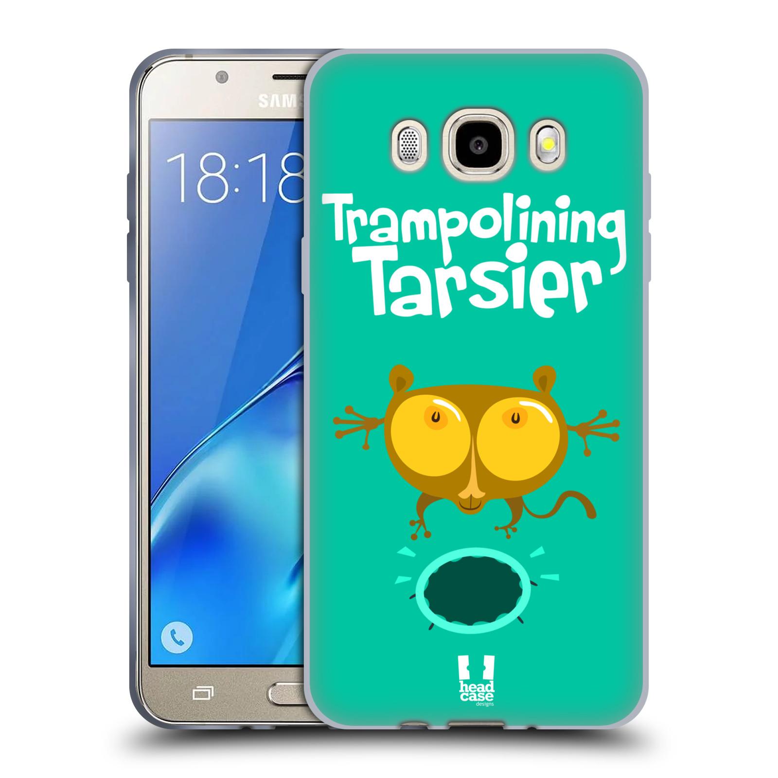 HEAD CASE silikonový obal, kryt na mobil Samsung Galaxy J5 2016, J510, J510F, (J510F DUAL SIM) vzor Zvířátka atleti TARSIER (Nártoun)