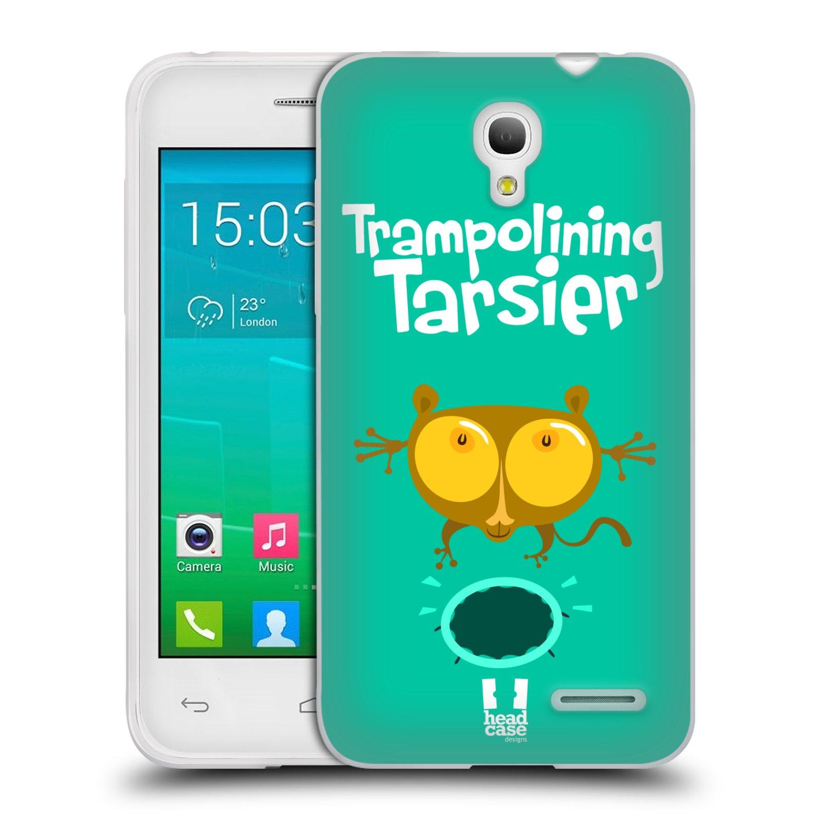 HEAD CASE silikonový obal na mobil Alcatel POP S3 OT-5050Y vzor Zvířátka atleti TARSIER (Nártoun)