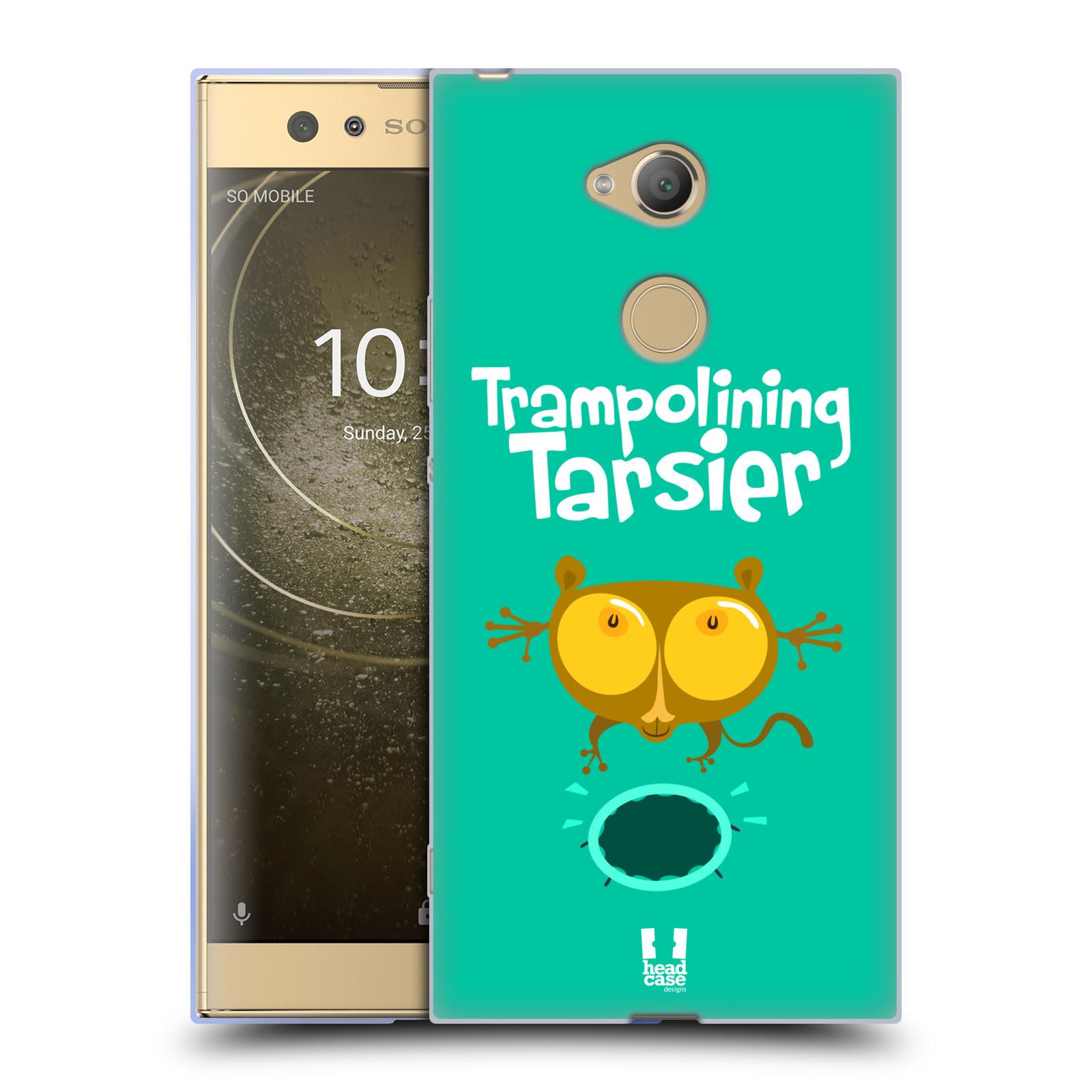 Pouzdro na mobil Sony Xperia XA2 Ultra vzor Zvířátka atleti TARSIER (Nártoun)