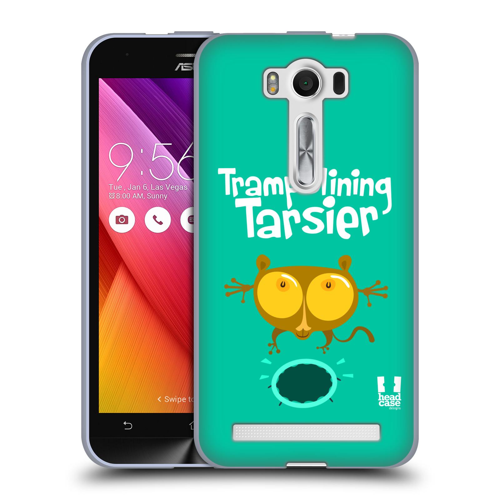 """HEAD CASE silikonový obal na mobil Asus Zenfone 2 LASER (ZE500KL s 5"""" displejem) vzor Zvířátka atleti TARSIER (Nártoun)"""