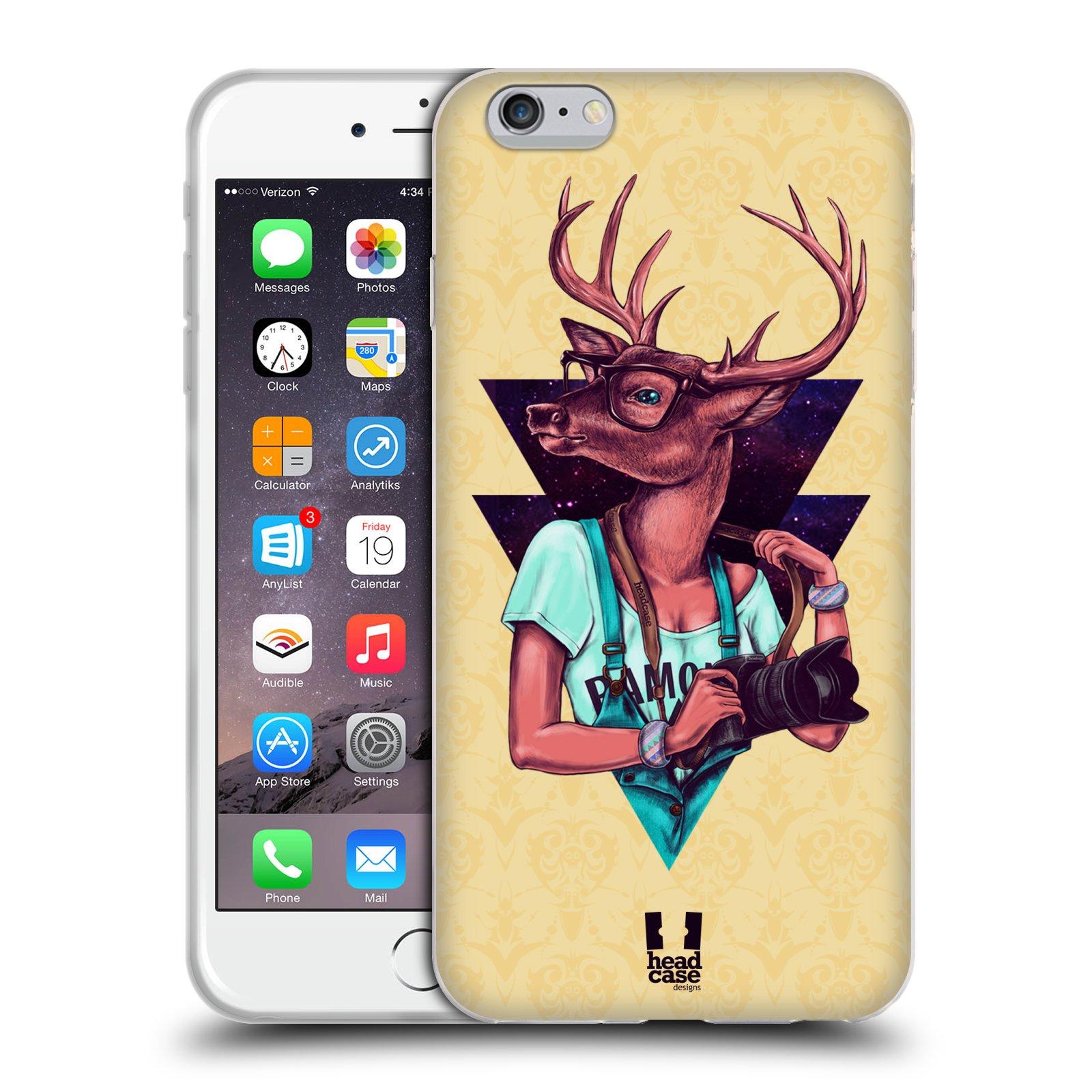 HEAD CASE silikonový obal na mobil Apple Iphone 6 PLUS/ 6S PLUS vzor módní zvířátka jelen