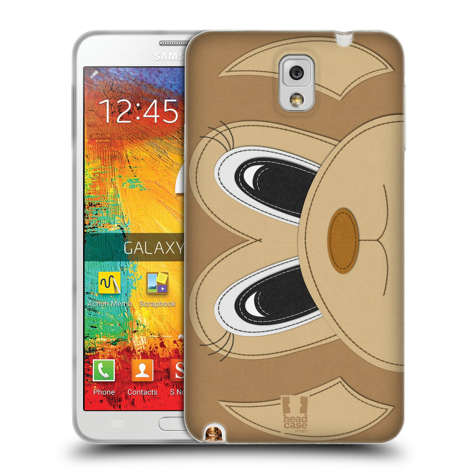 HEAD CASE DESIGNS ANIMAL PATCHES SERIES 2 SOFT GEL CASE FOR SAMSUNG PHONES 2