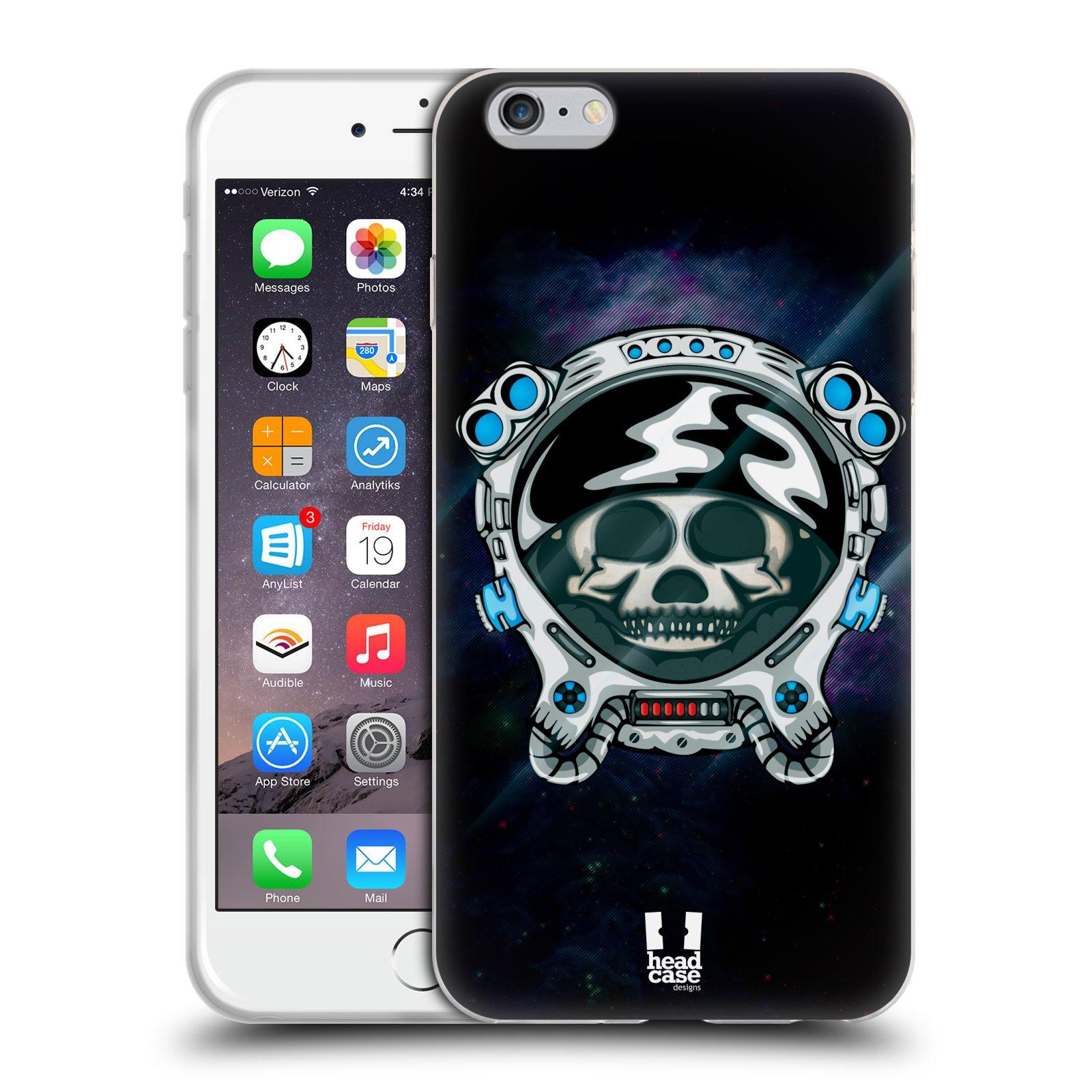 HEAD CASE silikonový obal na mobil Apple Iphone 6 PLUS/ 6S PLUS vzor zvířecí lebka astronaut medvěd