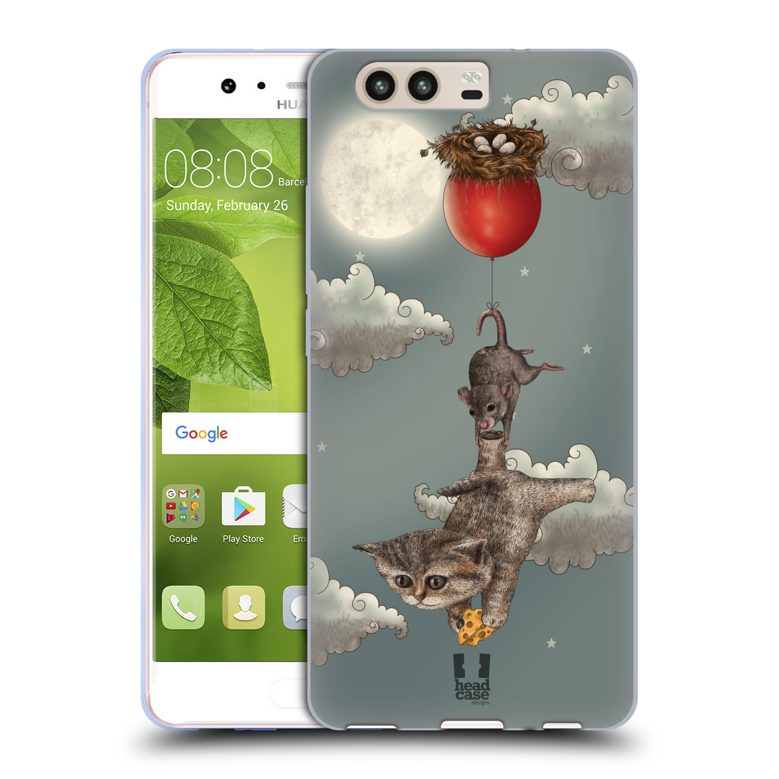 HEAD-CASE-DESIGNS-FANTAISIES-ANIMALES-ETUI-COQUE-EN-GEL-MOLLE-POUR-HUAWEI-P10