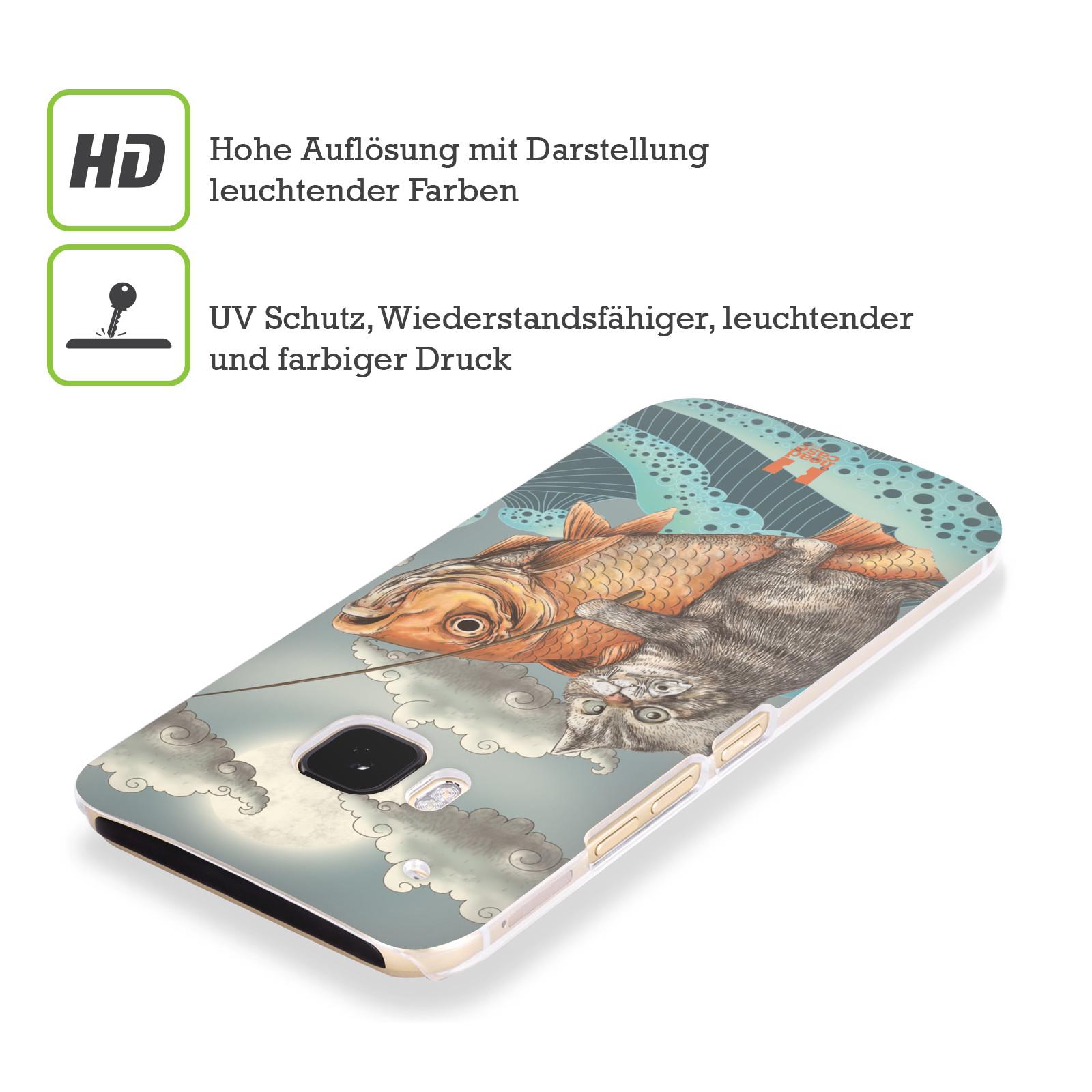 HEAD-CASE-DESIGNS-TIERE-FANTASIEN-RUCKSEITE-HULLE-FUR-HTC-HANDYS-3