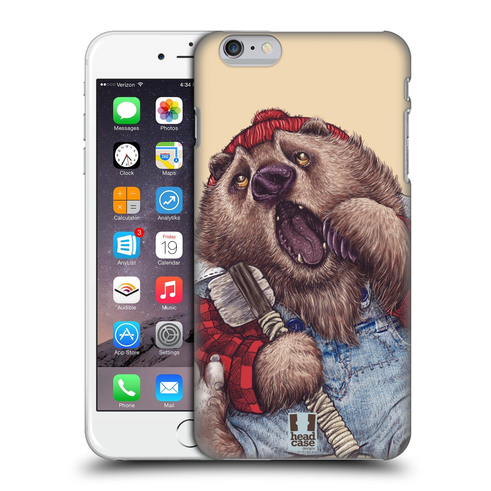 Plastové pouzdro pro mobil Apple Iphone 6 PLUS / 6S PLUS vzor Kreslená zvířátka medvěd
