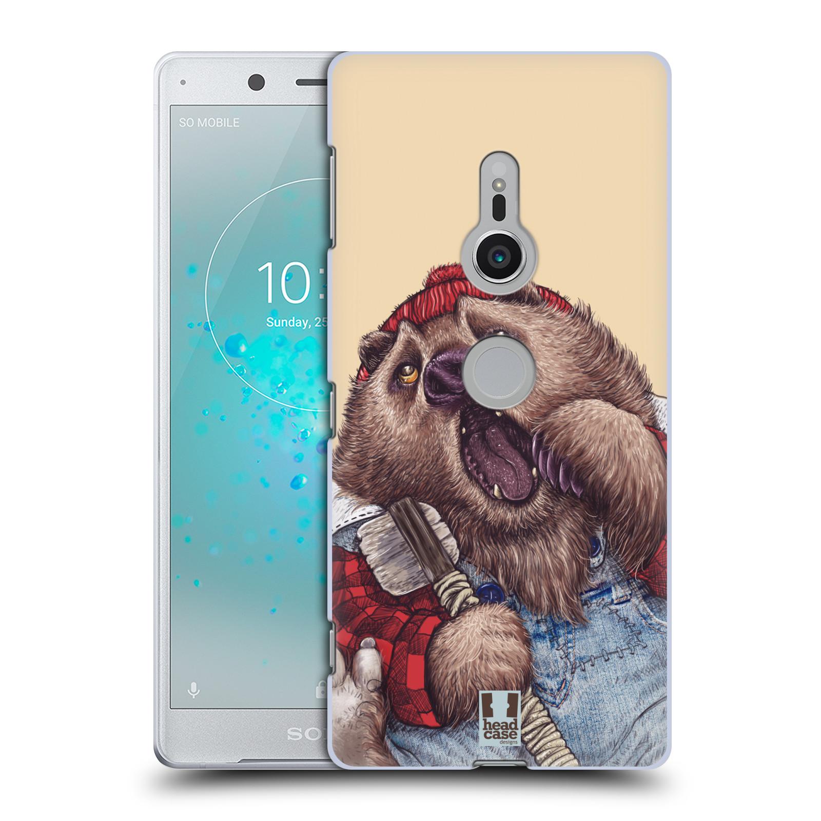 HEAD CASE plastový obal na mobil Sony Xperia XZ2 vzor Kreslená zvířátka medvěd