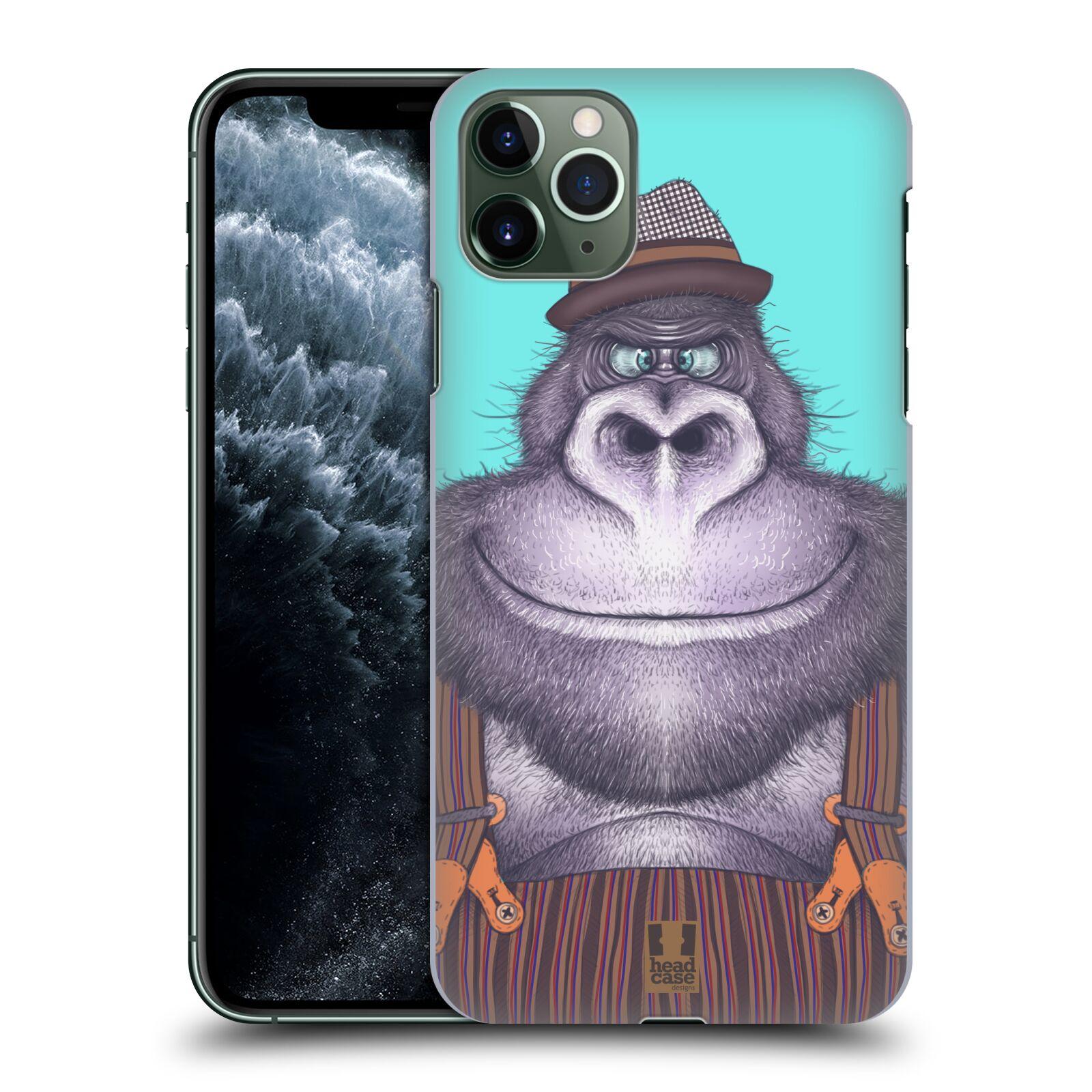 Pouzdro na mobil Apple Iphone 11 PRO MAX - HEAD CASE - vzor Kreslená zvířátka gorila