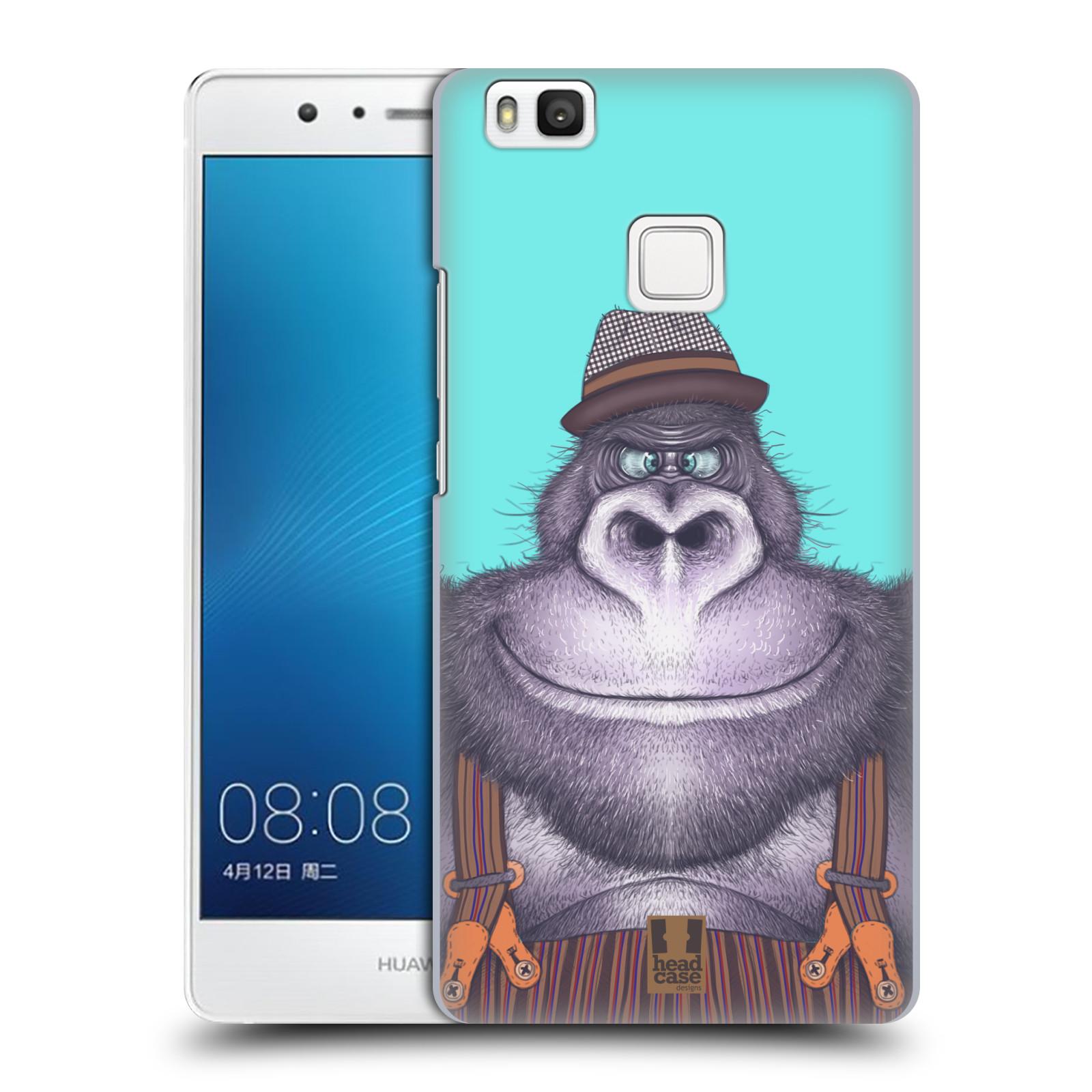 HEAD CASE plastový obal na mobil Huawei P9 LITE / P9 LITE DUAL SIM vzor Kreslená zvířátka gorila