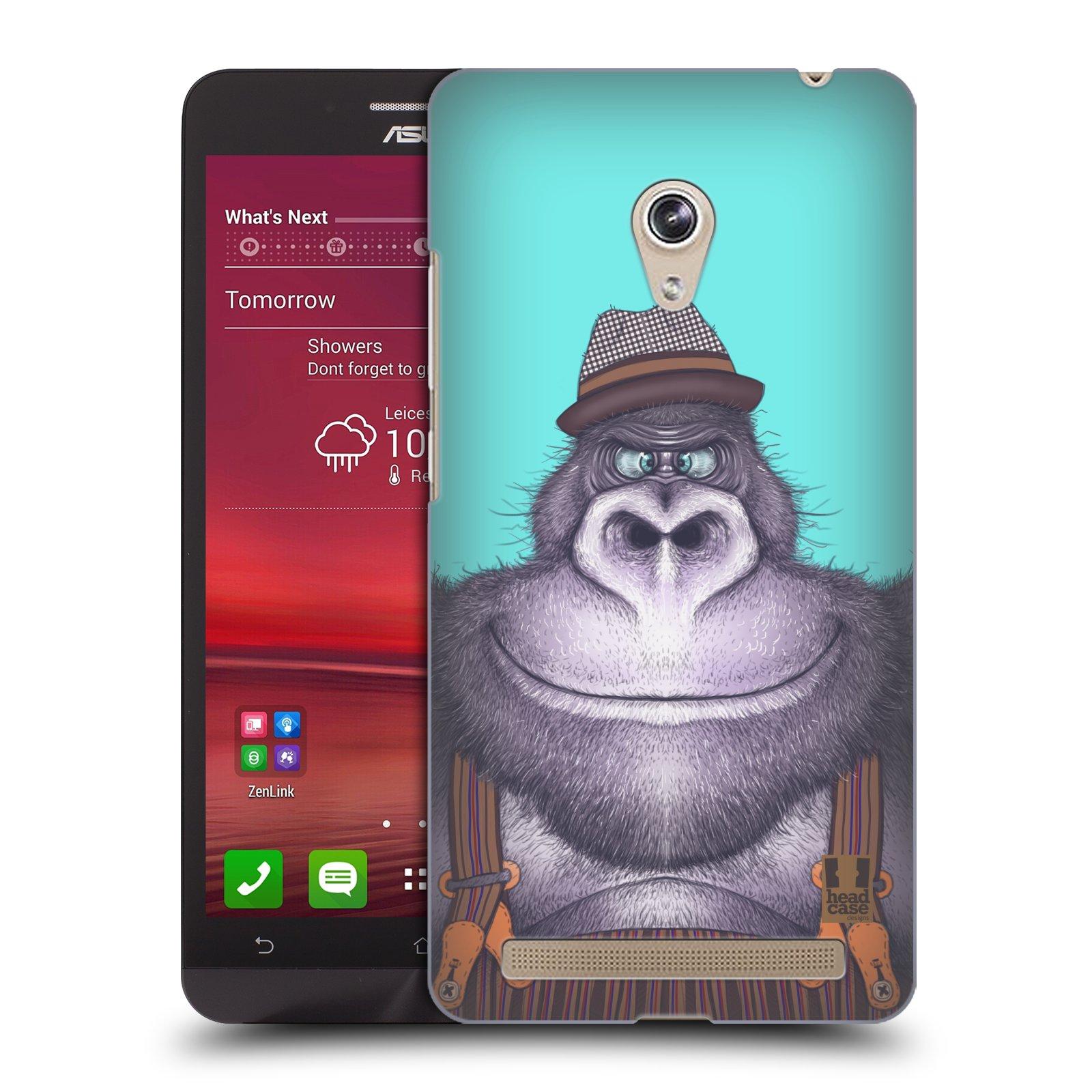 HEAD CASE plastový obal na mobil Asus Zenfone 6 vzor Kreslená zvířátka gorila