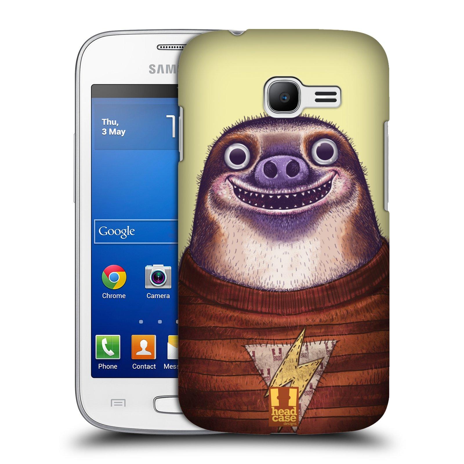 HEAD CASE plastový obal na mobil SAMSUNG GALAXY Star Pro S7260/S7262 DUOS vzor Kreslená zvířátka lenochod